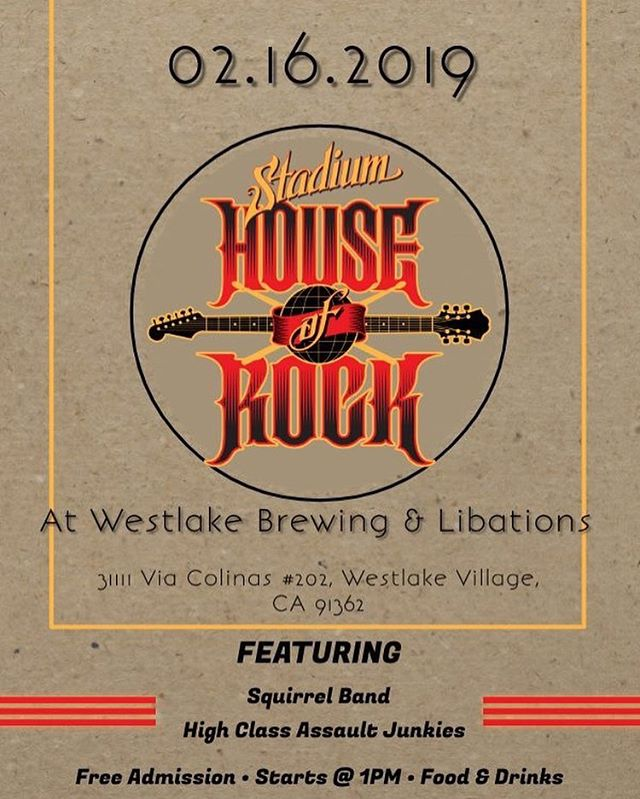 Did you know, that we also have adult programs? Join us this Saturday for our free show at Westlake Brewing & Libations!