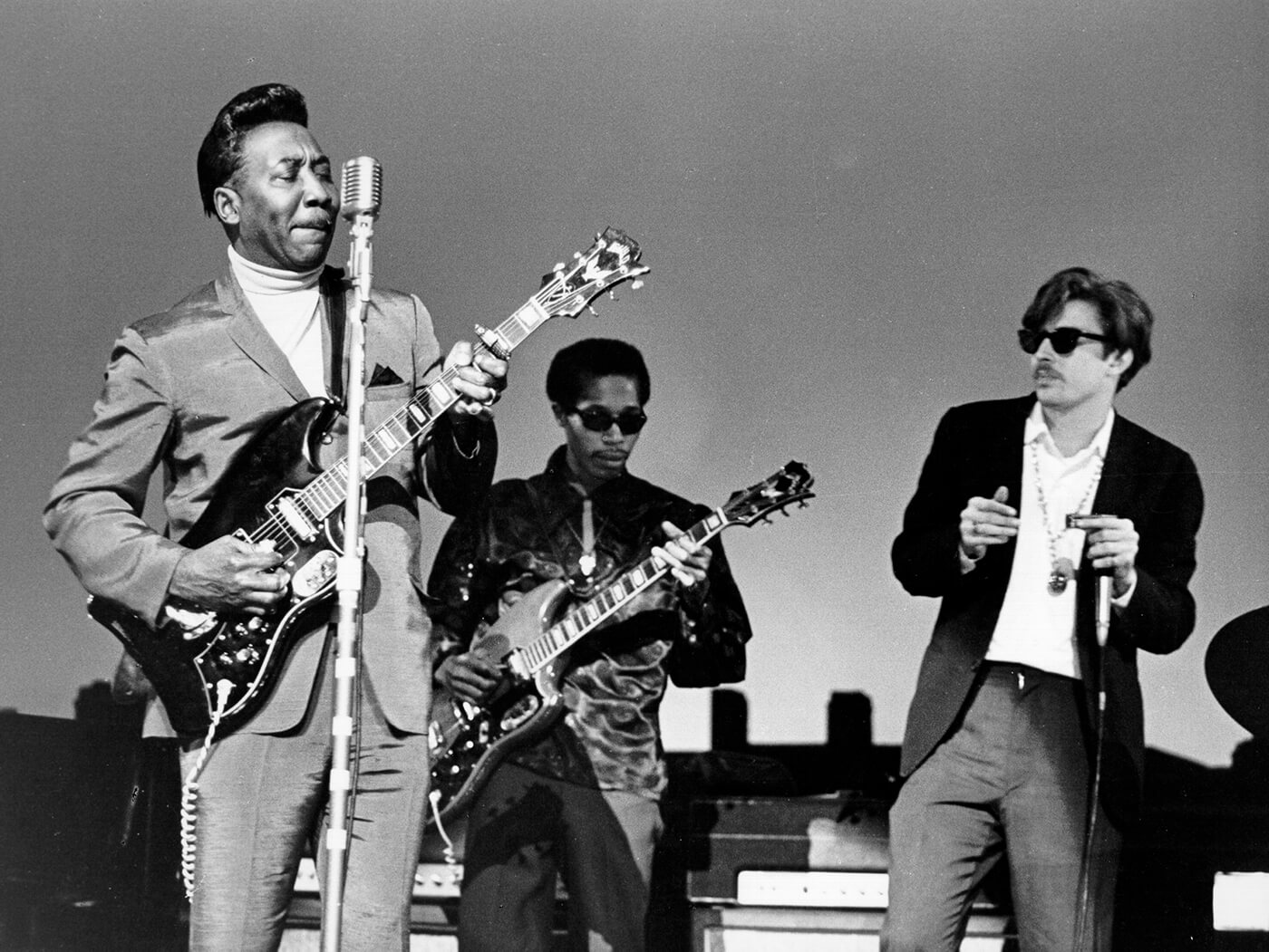 Muddy Waters creatively extended the 12-bar-blues formula. His version of Willie Dixon's 'I'm Your Hoochie Coochie Man' is an example of a 16-bar blues. Credit: Getty Images