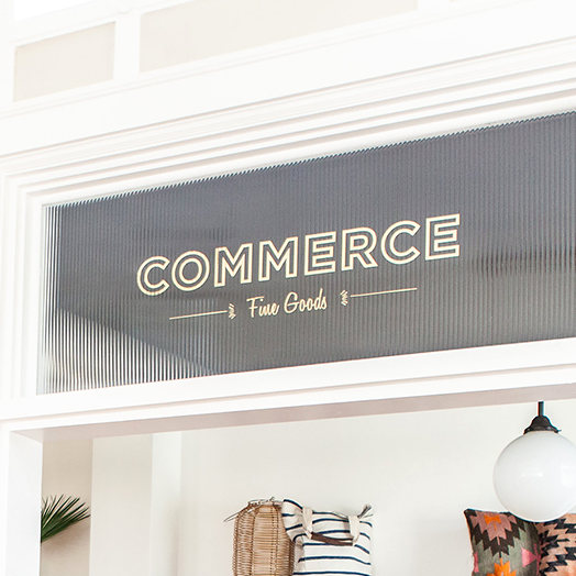Commerce Fine Goods — Boho Lifestyle   Branding, Marketing, Commerce