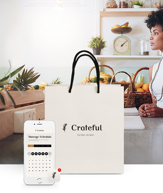 Crateful — Eat Well. Be Well.   Branding, Marketing, Product Design
