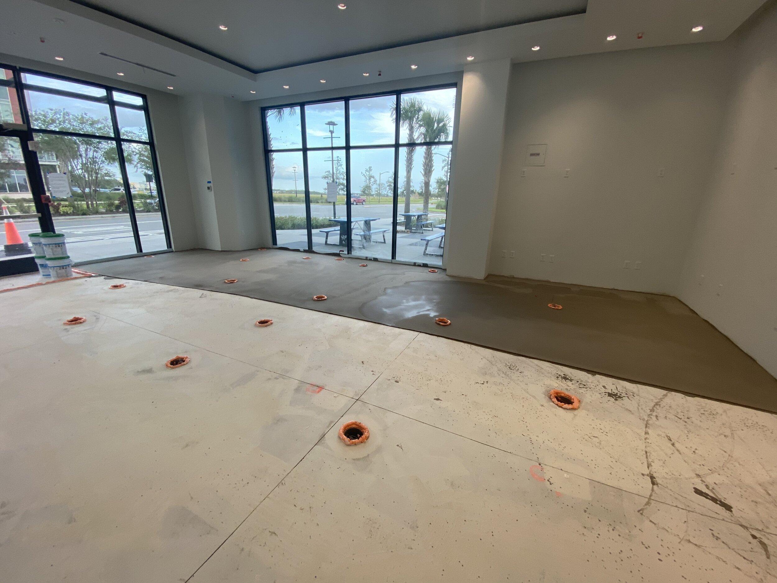 Self Leveling Concrete Contractors