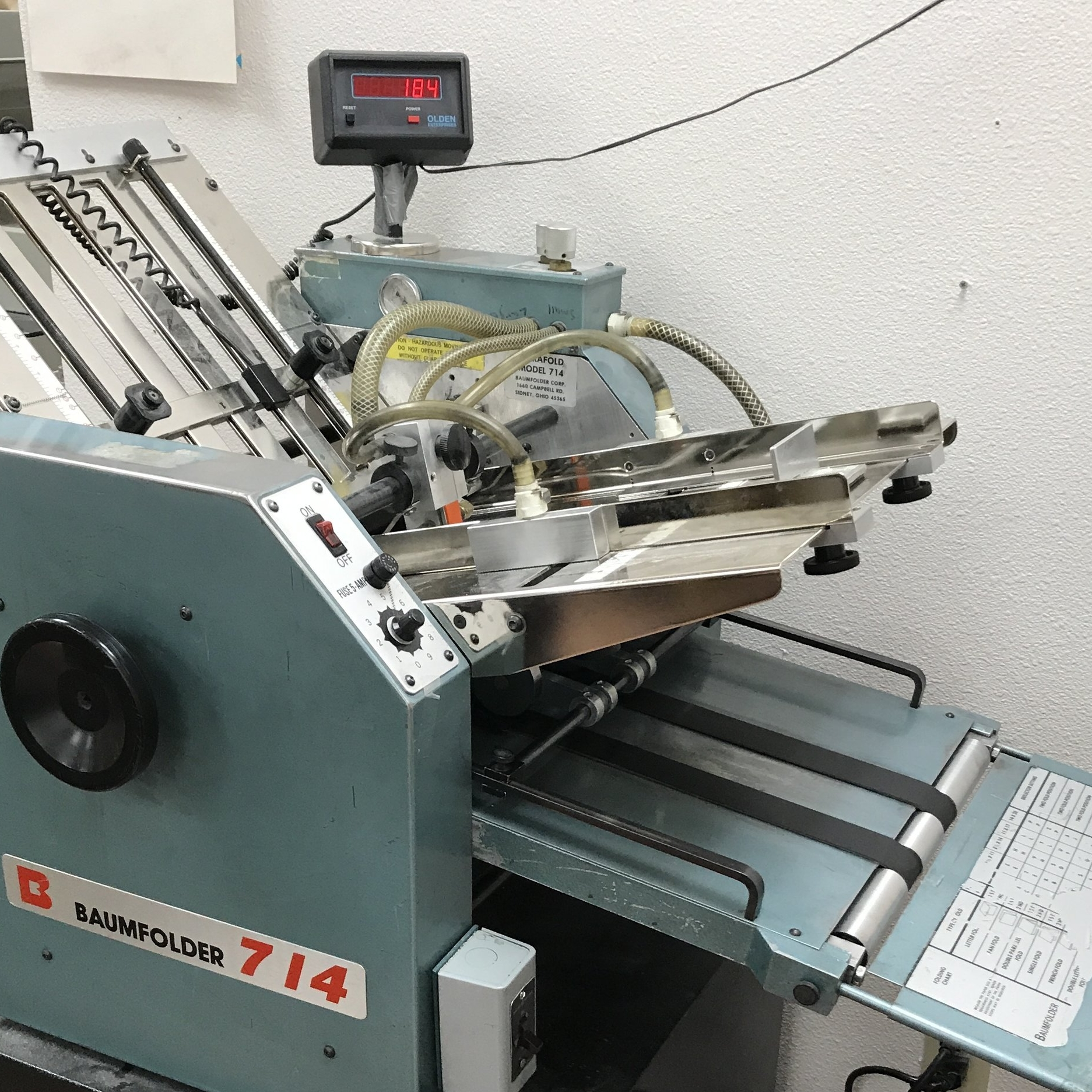 BINDERY - We offer a variety of bindery services: