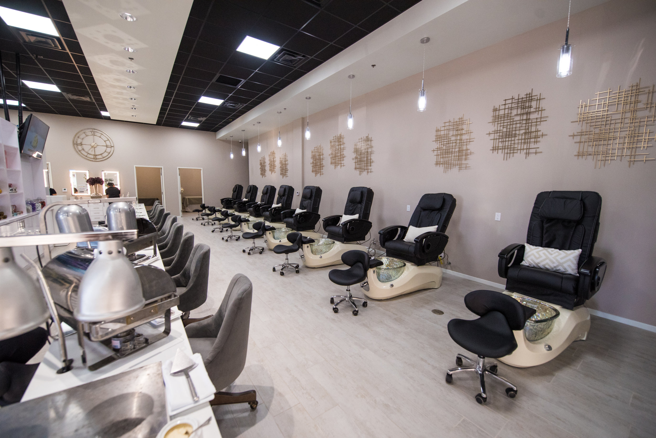 WELCOME TO THE   NAIL SOCIETY    SEE OUR WORK