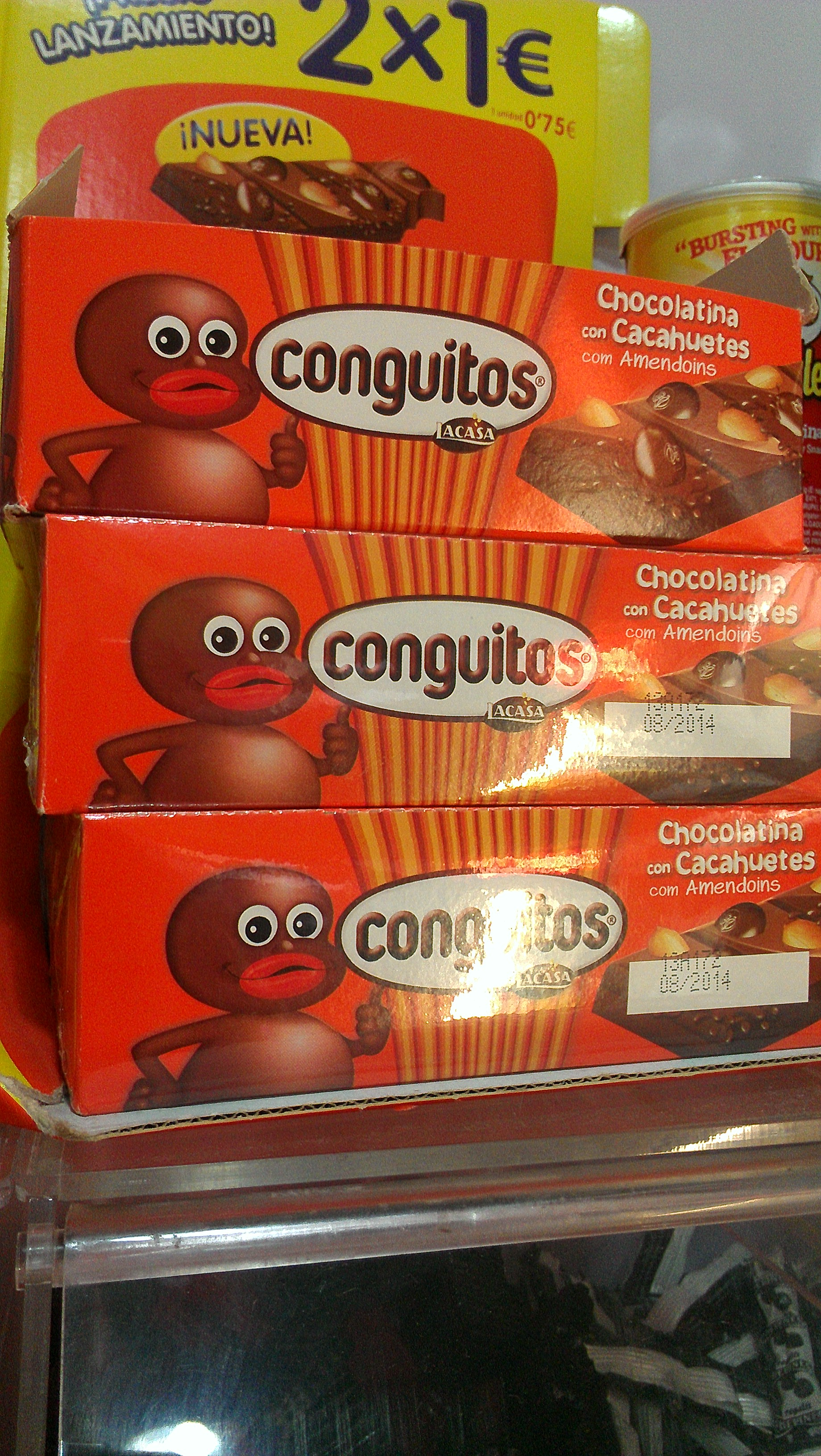 black in spain - conguitos candy