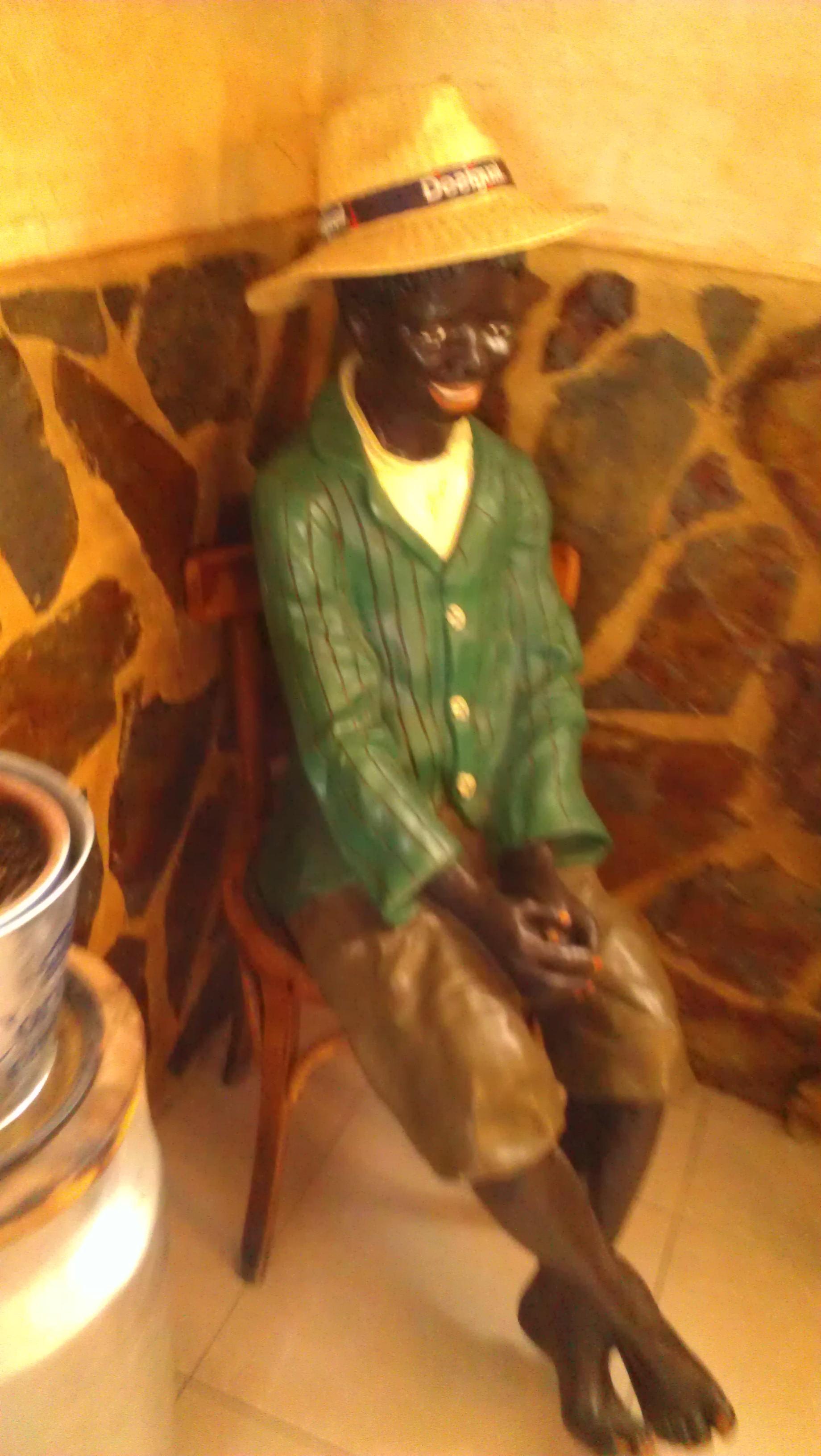 black in spain - pickaninny statue valladolid