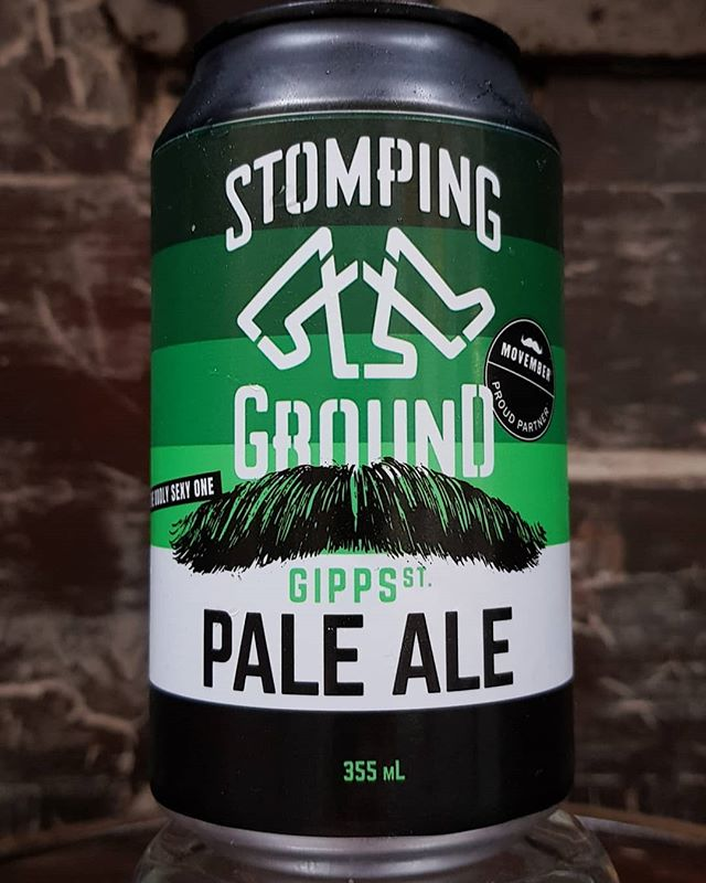 And who said that beer can't save lives,  For the 3rd year in a row Stompimg Ground is donating $75000 to Movember, So come pop in a support the cause.