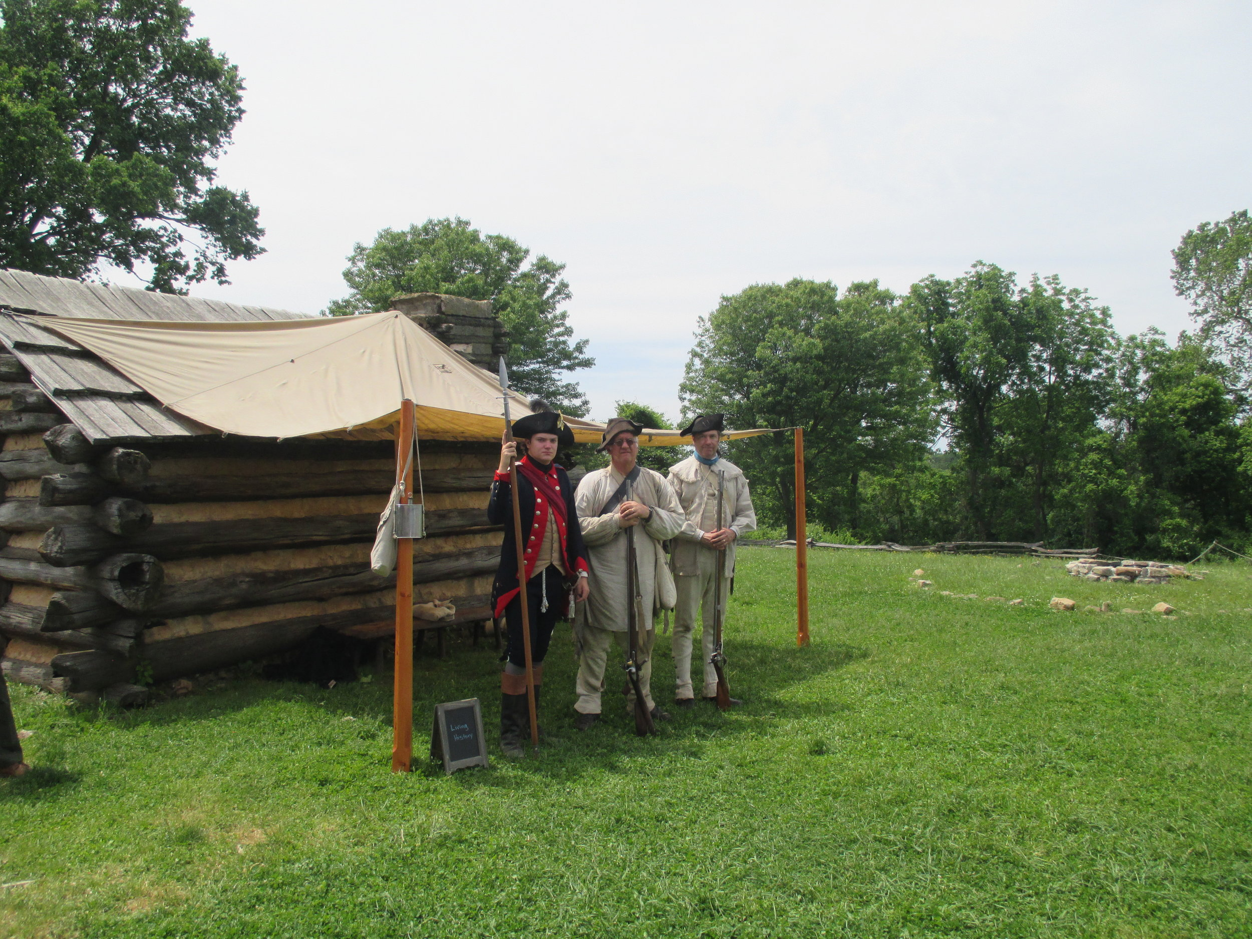 Home School Day- soldiers of the Encampment.JPG