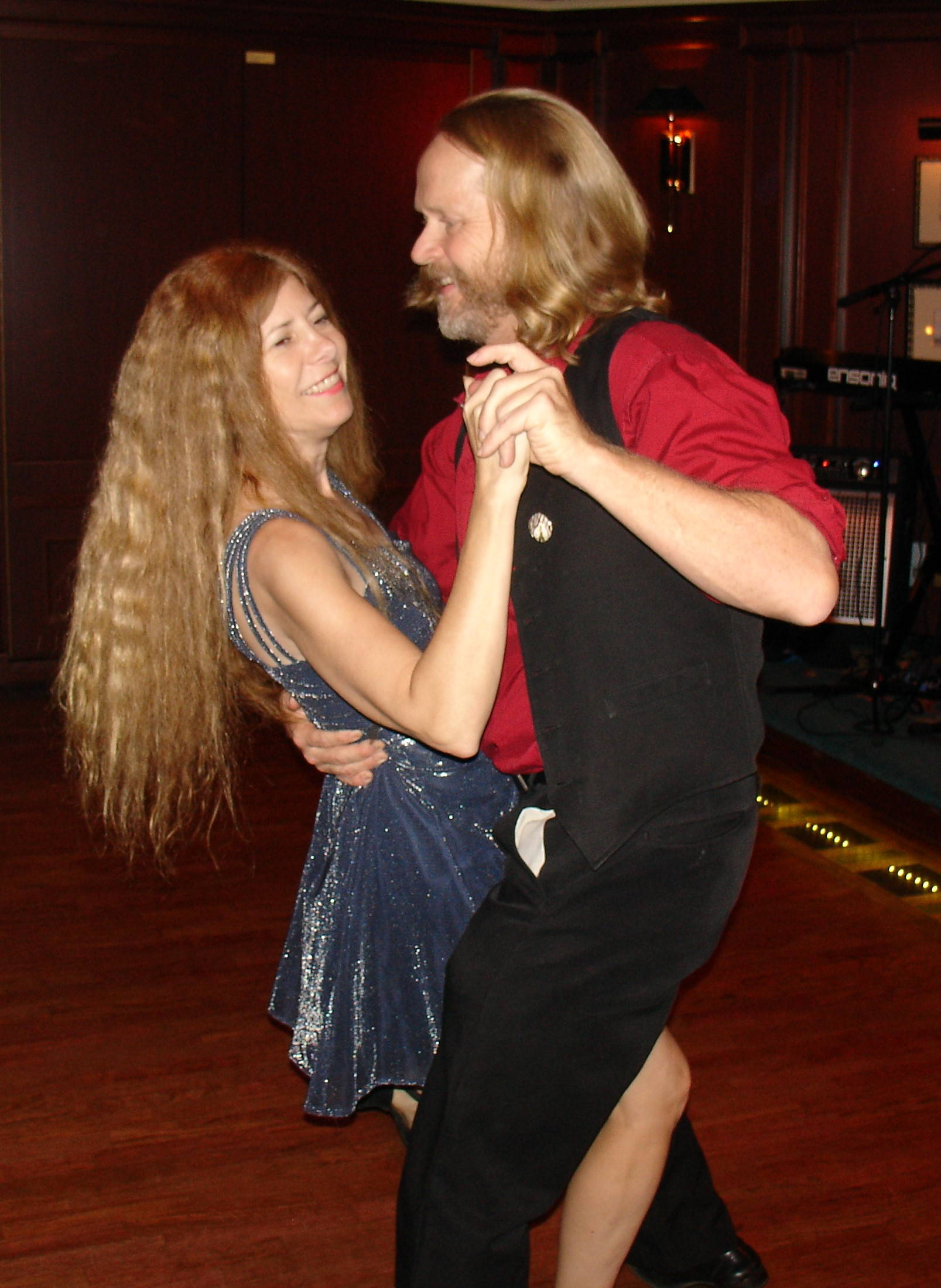 Our hobby is Ballroom Dancing which we try to do at least once a week.