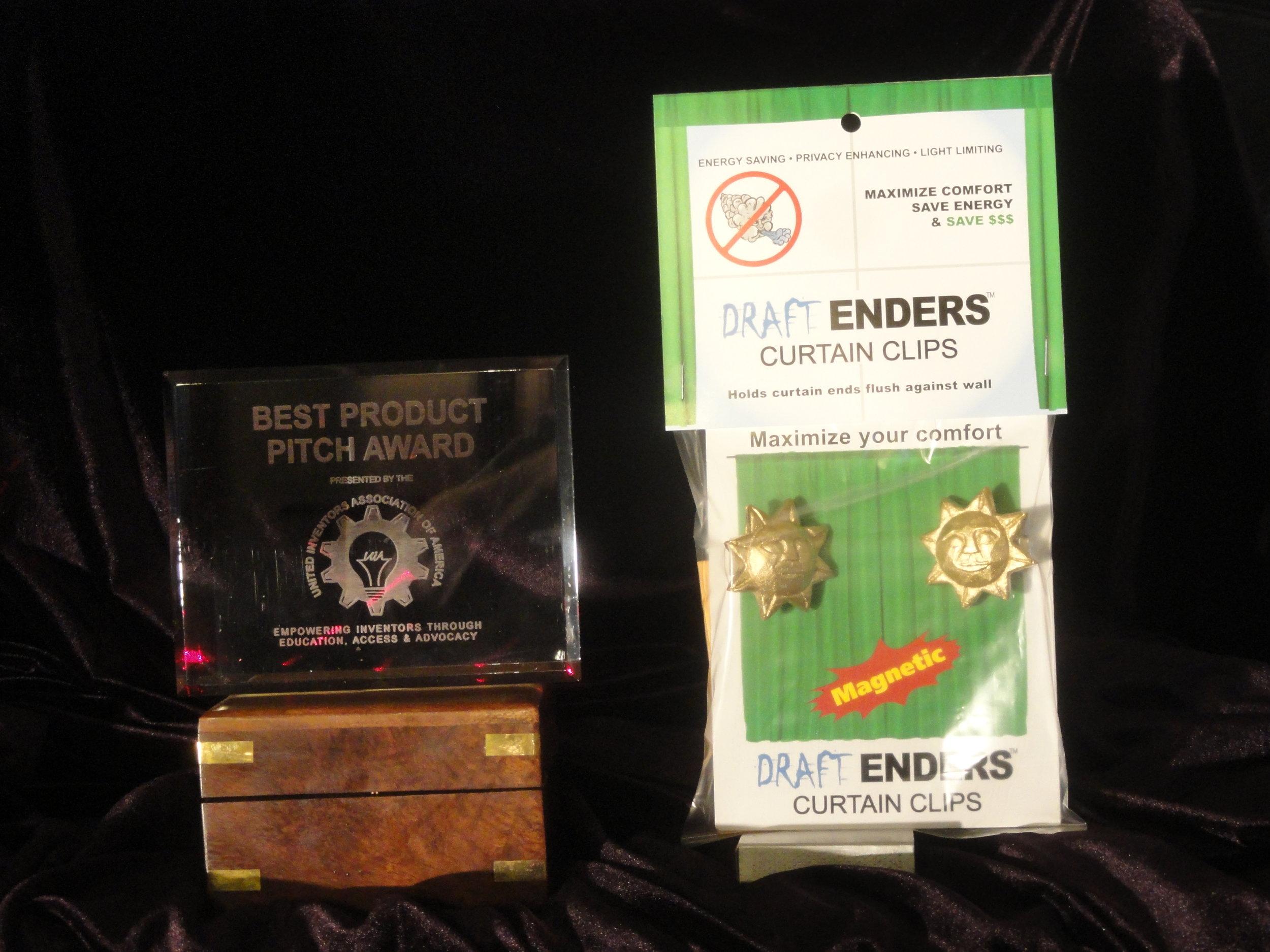 Award at 2015 S.D.     Response Expo -