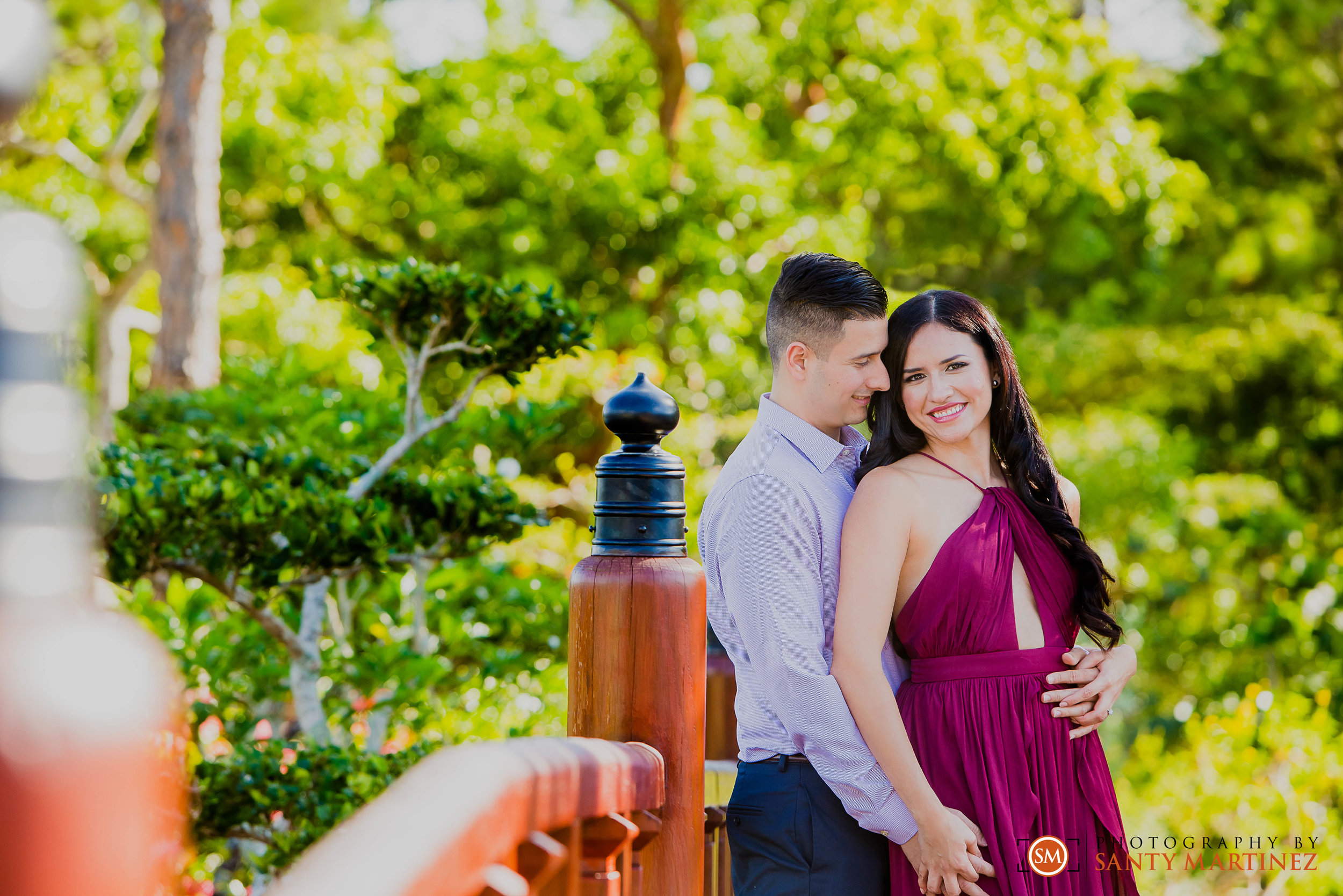 Morikami Engagement Session - Wedding Photographers - Santy Martinez.jpg