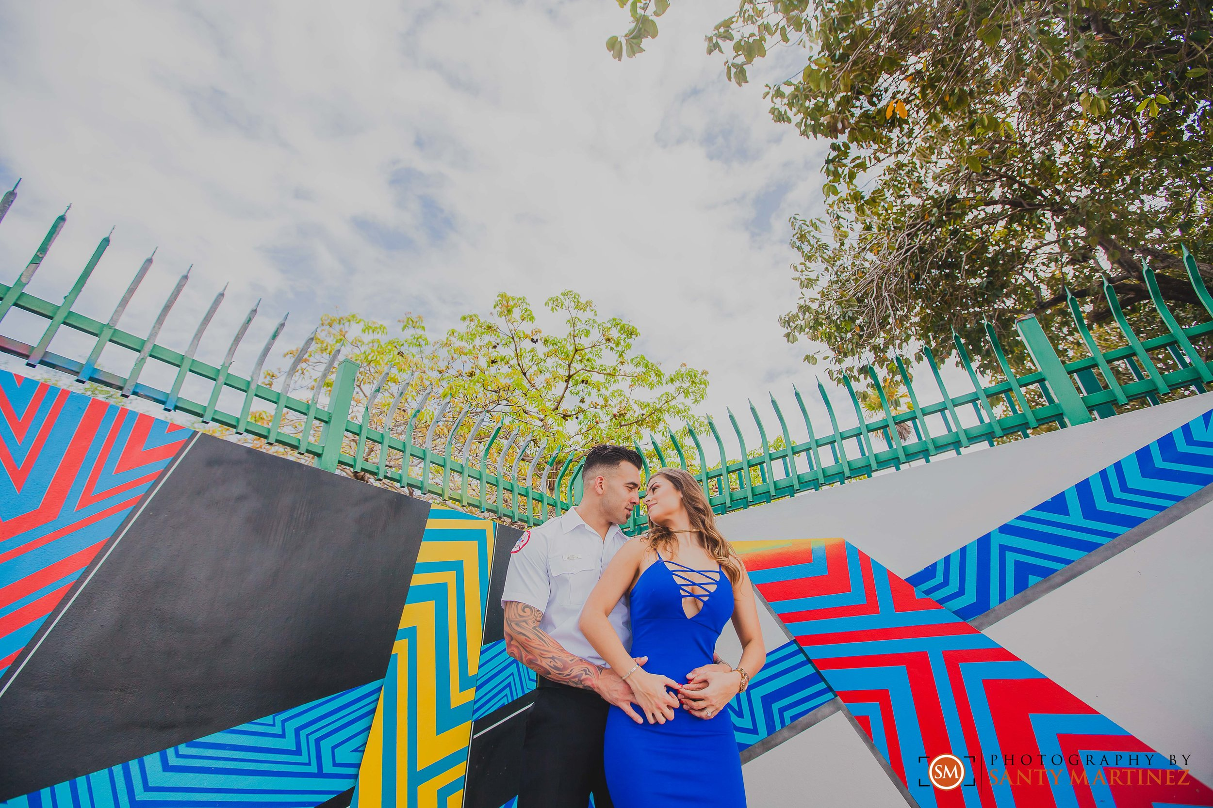 Miami Firefighter Engagement Session - Photography by Santy Martinez-2.jpg