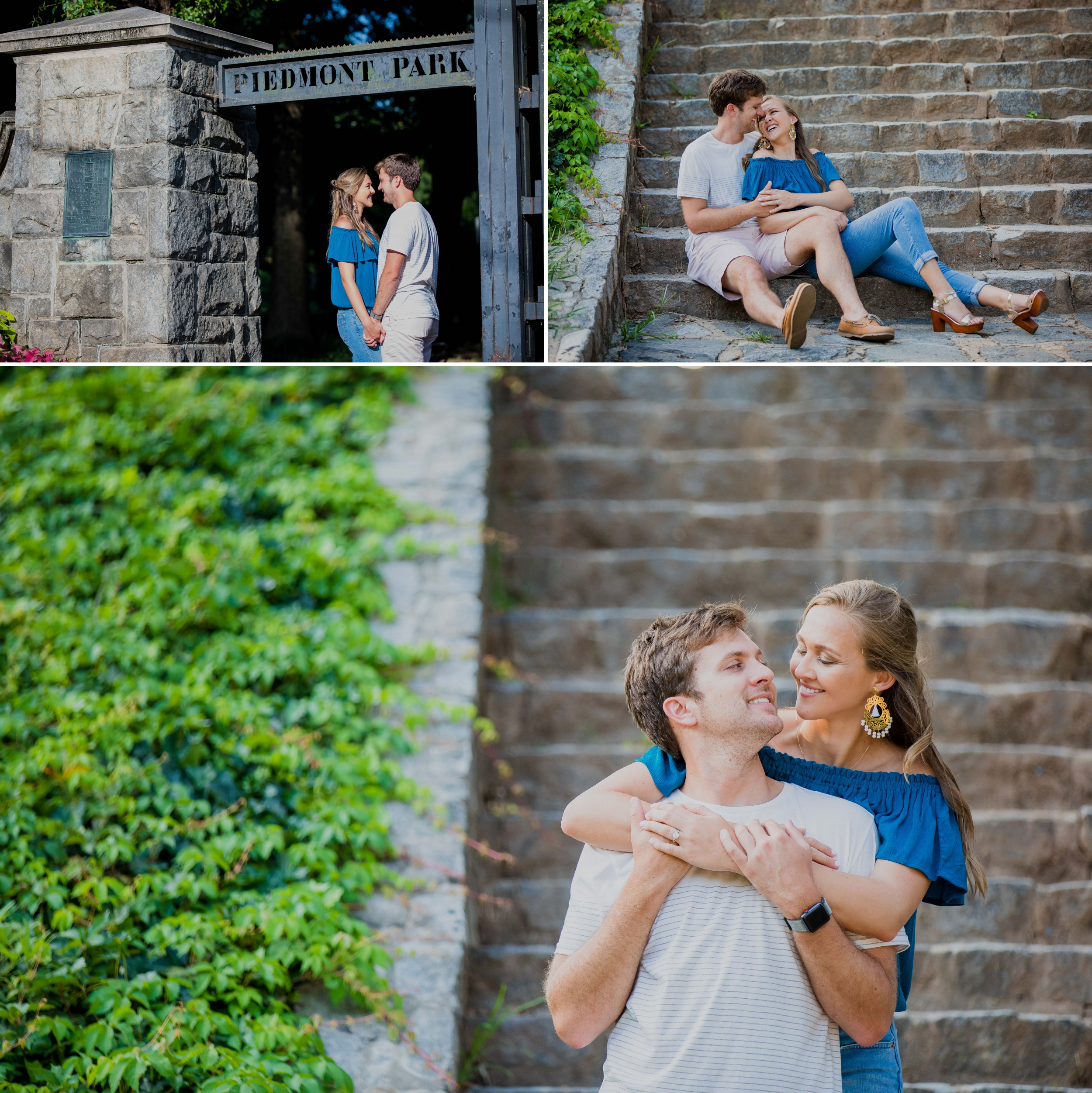 Engagement Session - Piedmont Park - Atlanta - GA - Santy Martinez Photography 5.jpg