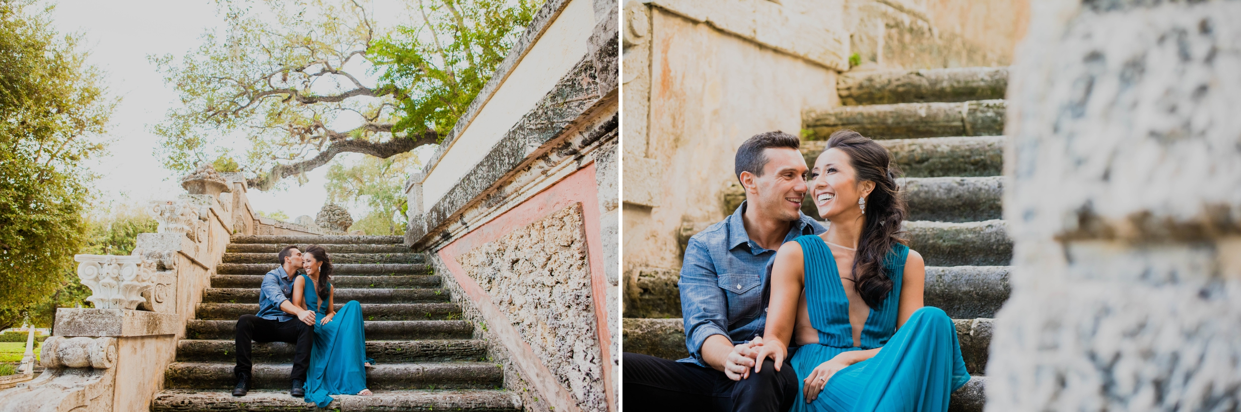Vizcaya Museum and Gardens Engagement Session Santy Martinez Photography 1.jpg