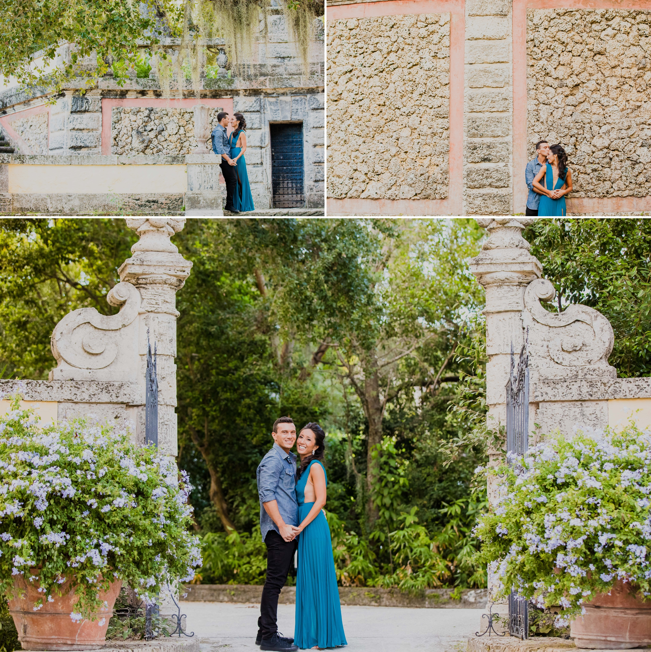 Vizcaya Museum and Gardens Engagement Session Santy Martinez Photography 2.jpg