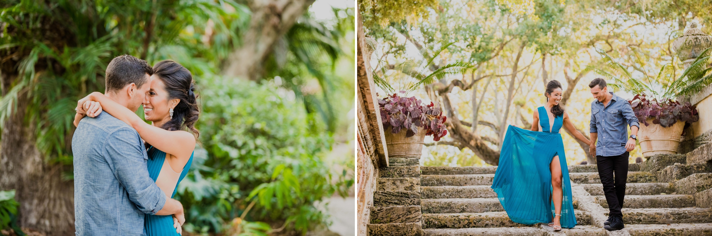 Vizcaya Museum and Gardens Engagement Session Santy Martinez Photography 5.jpg