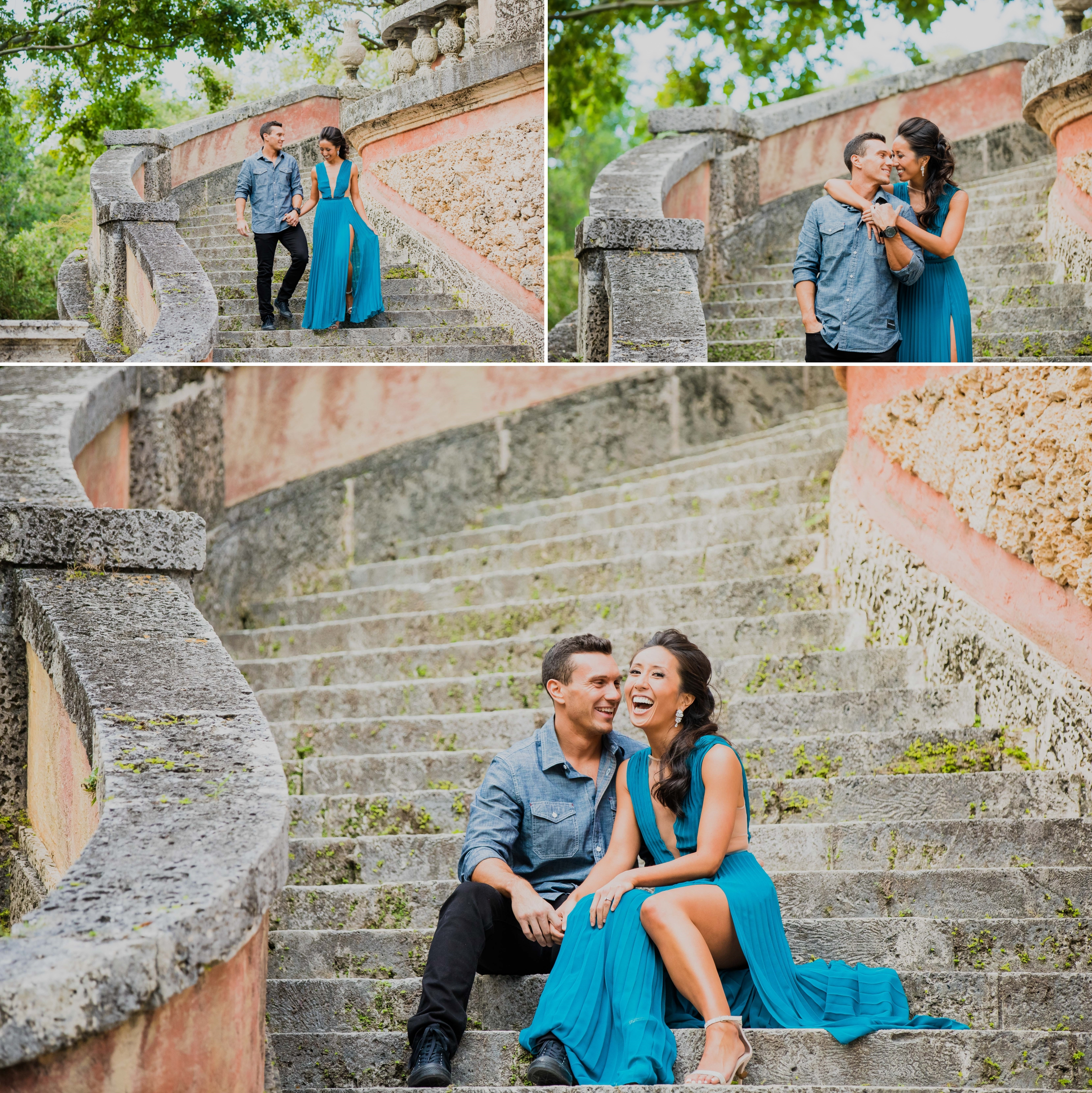 Vizcaya Museum and Gardens Engagement Session Santy Martinez Photography 4.jpg