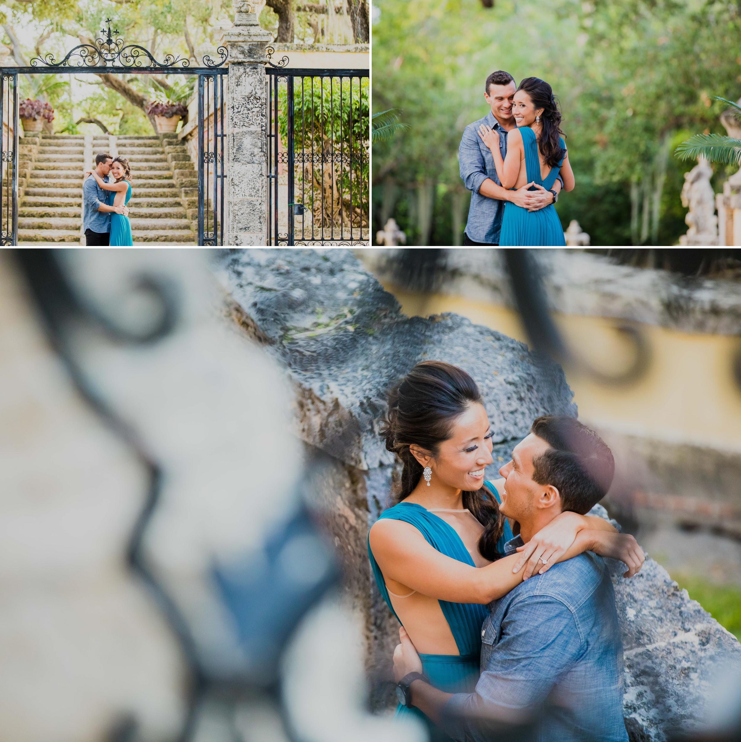 Vizcaya Museum and Gardens Engagement Session Santy Martinez Photography 6.jpg