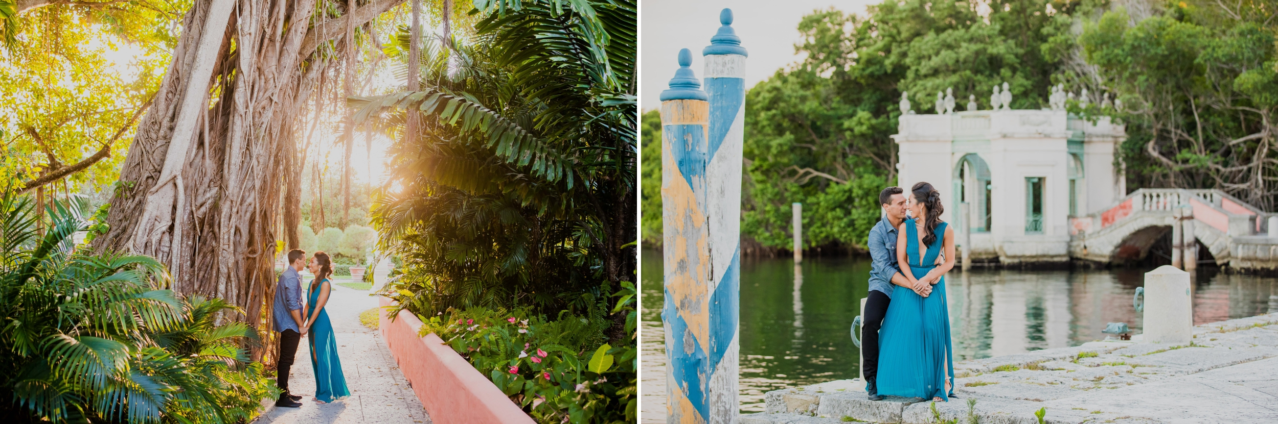 Vizcaya Museum and Gardens Engagement Session Santy Martinez Photography 8.jpg