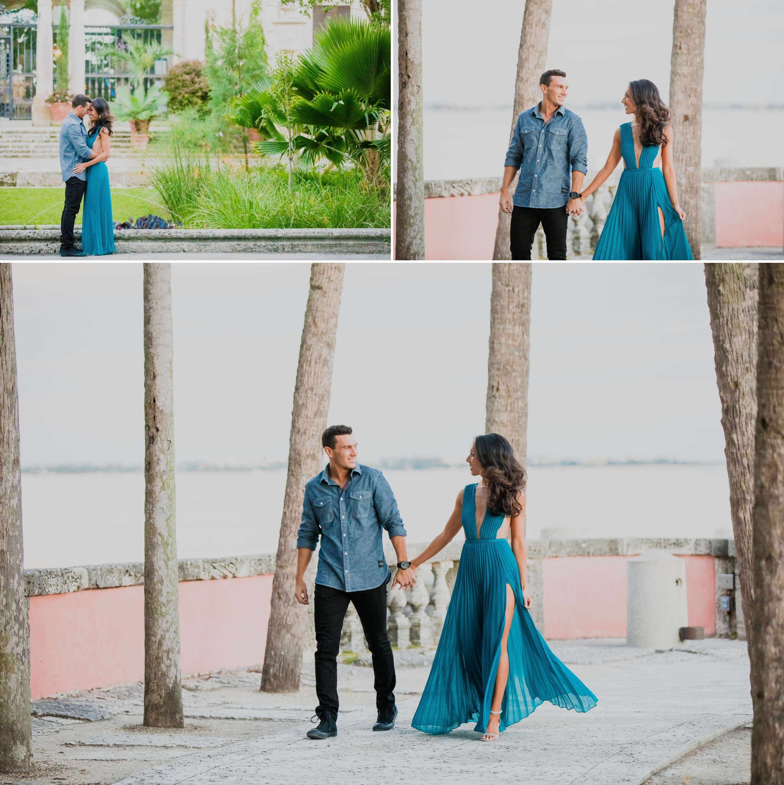 Vizcaya Museum and Gardens Engagement Session Santy Martinez Photography 9.jpg