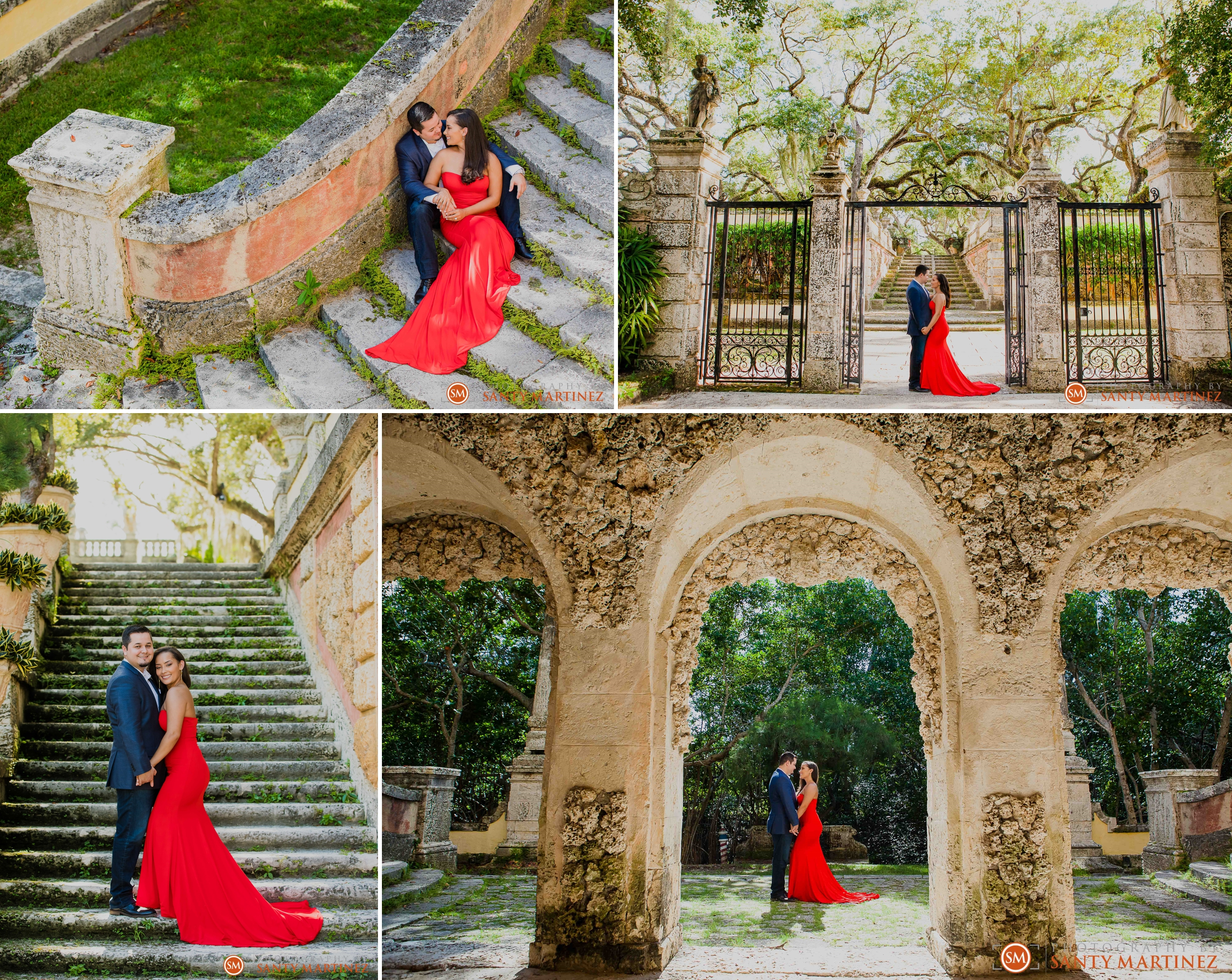 Vizcaya Engagement Session - Miami - Photography by Santy Martinez 4.jpg