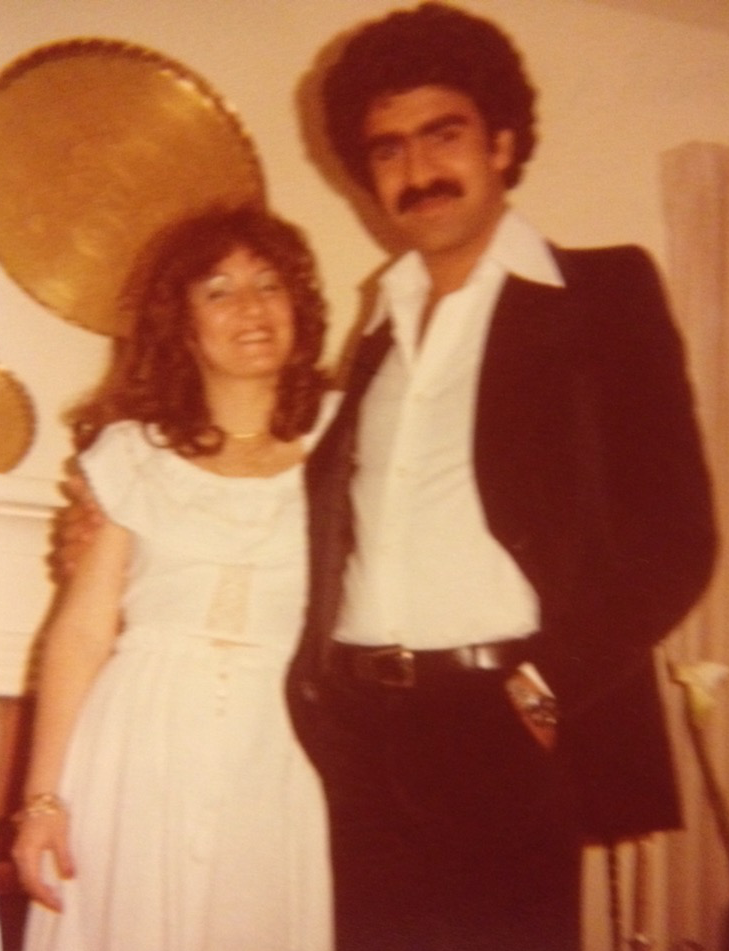 Adel and Zalfa Mahshi circa 1979