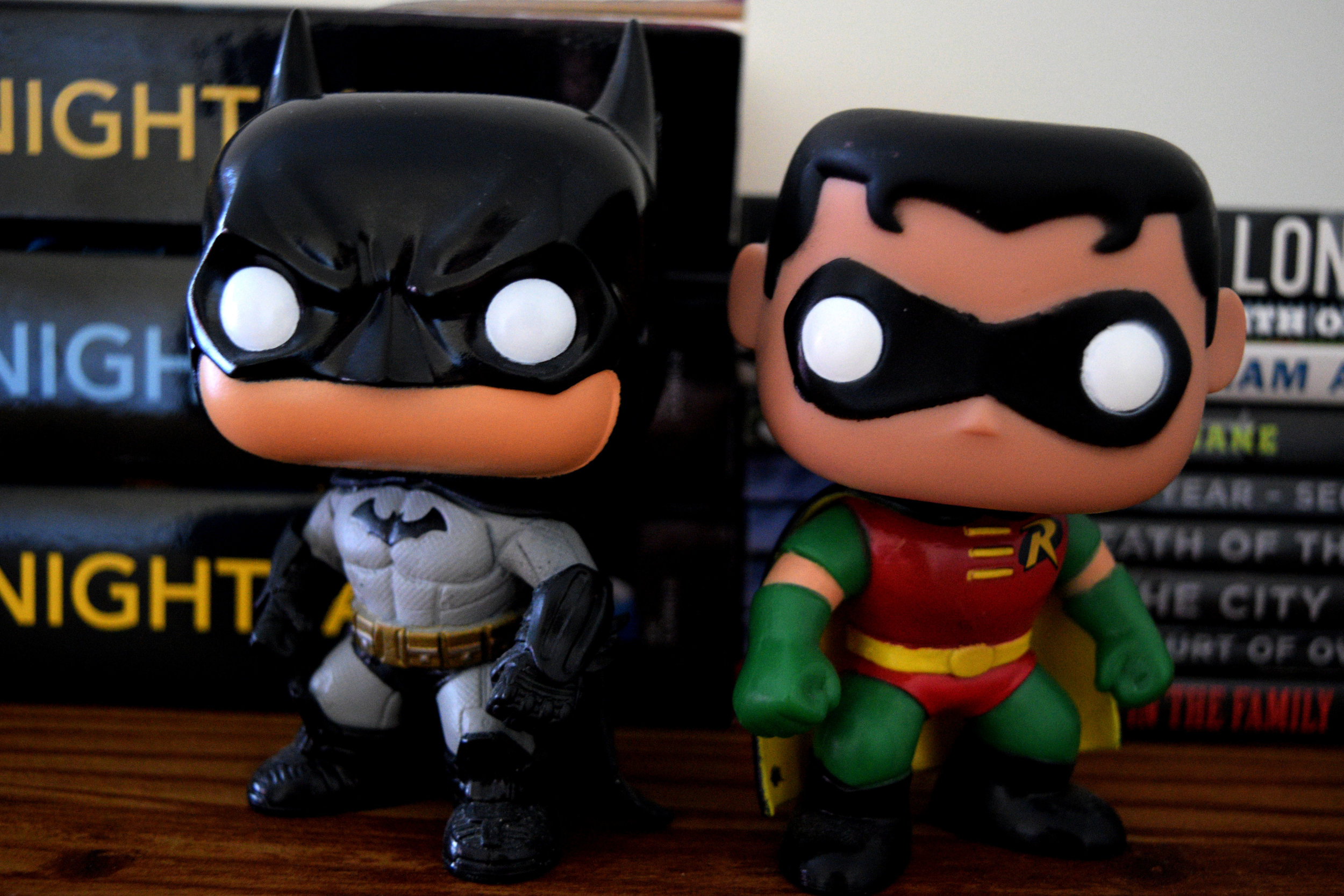 Batman & Robin Funko Pops