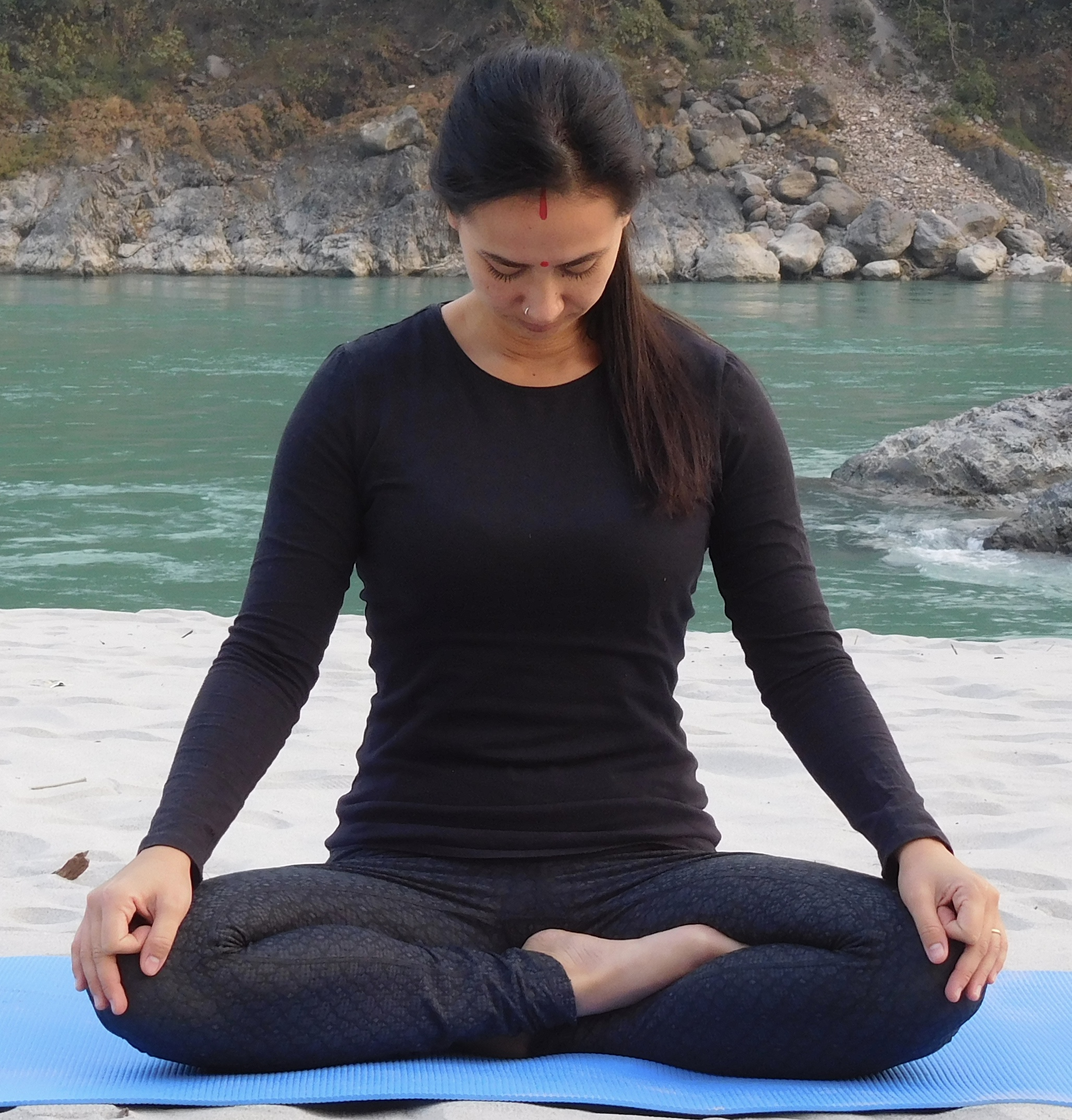 Siddhasana - The pose of perfection.
