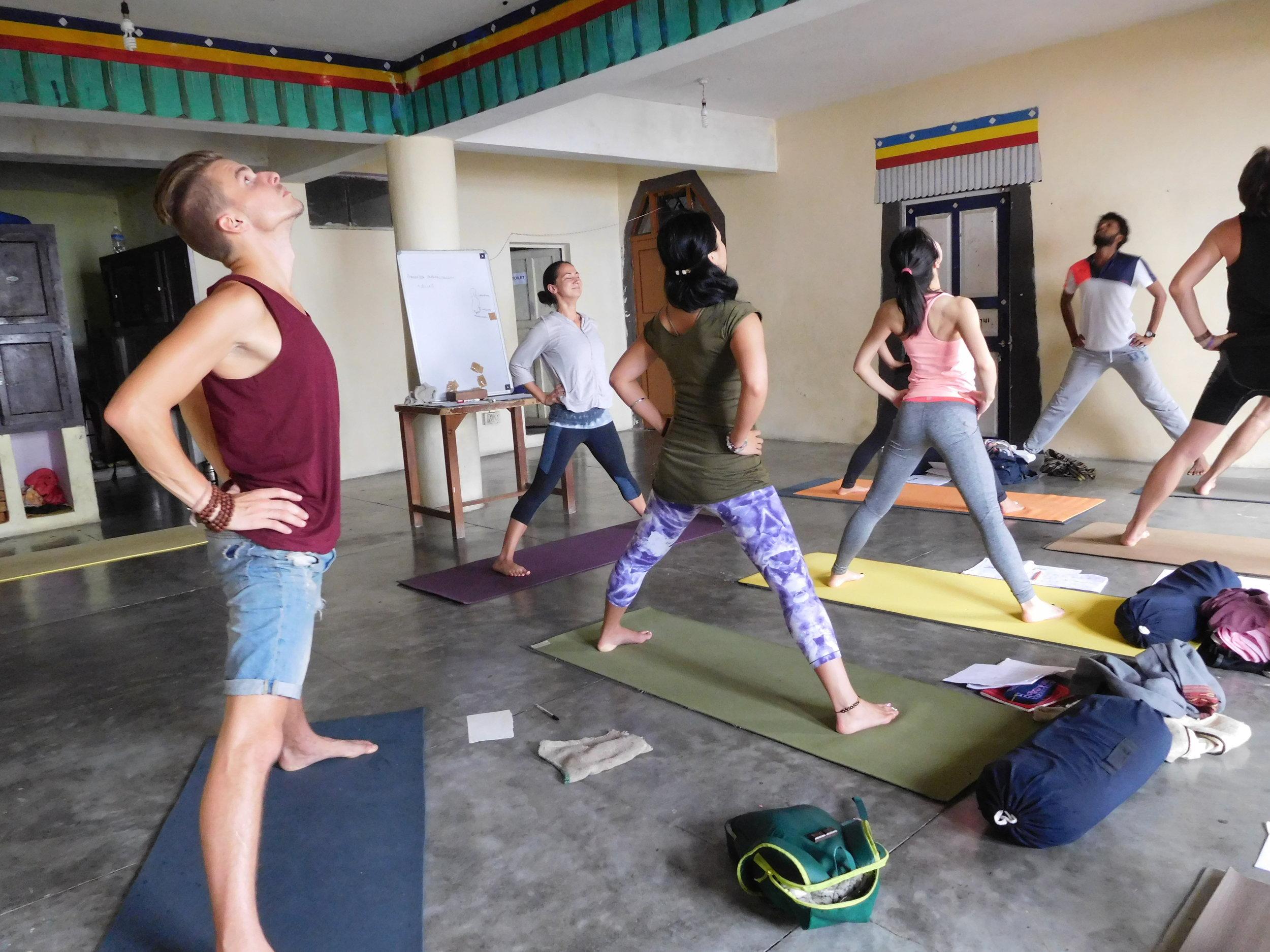 Ashtanga vinyasa yoga -