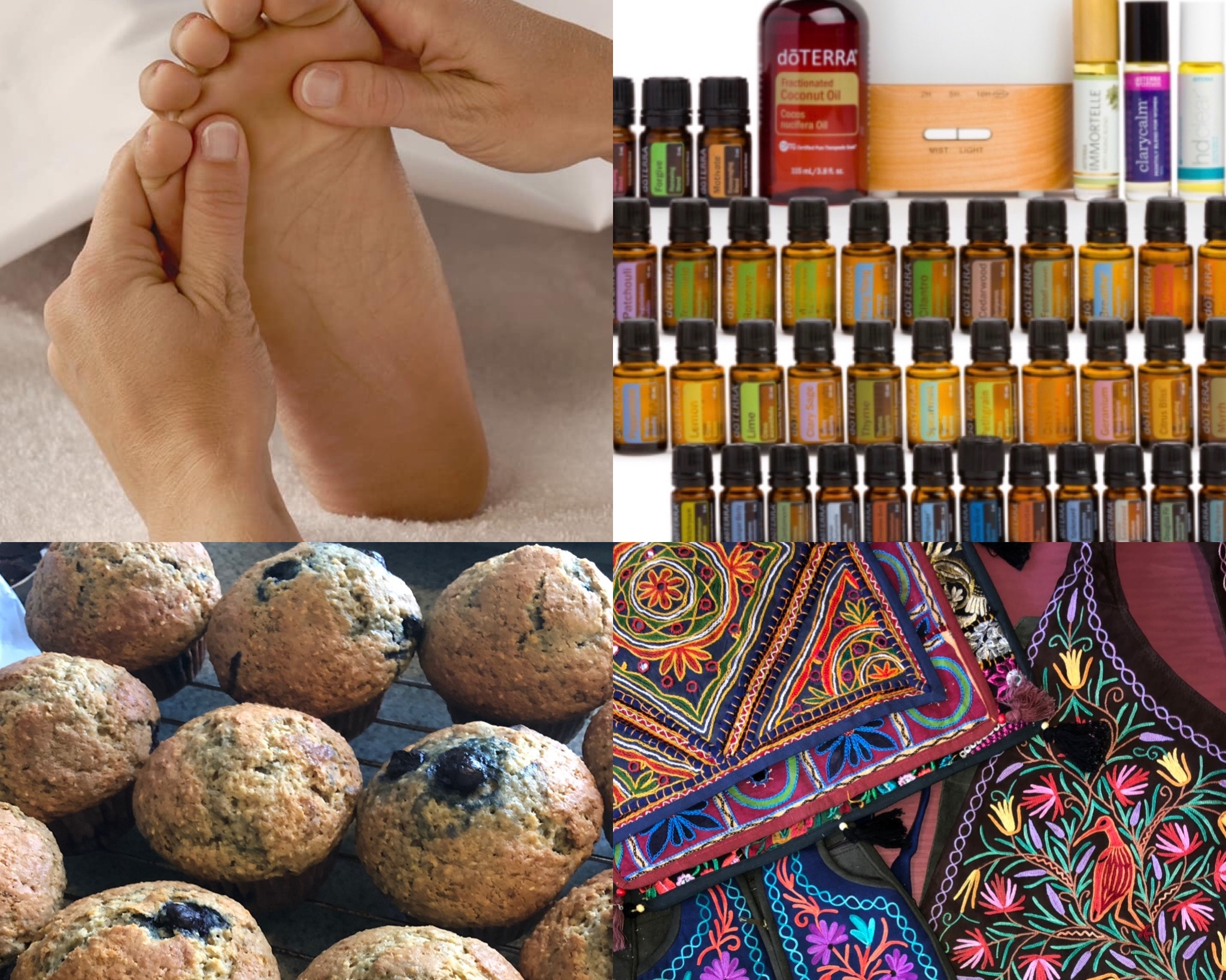 Awaken Wellness Fair 2019:June 23rd - FREE event to awaken health and wellness in our community. DoTerra Essential Oils, Flourish Restorative Therapies, unique gifts from India, Tiffany's foot reflexology, and more! Plenty of free parking. 2-6pm
