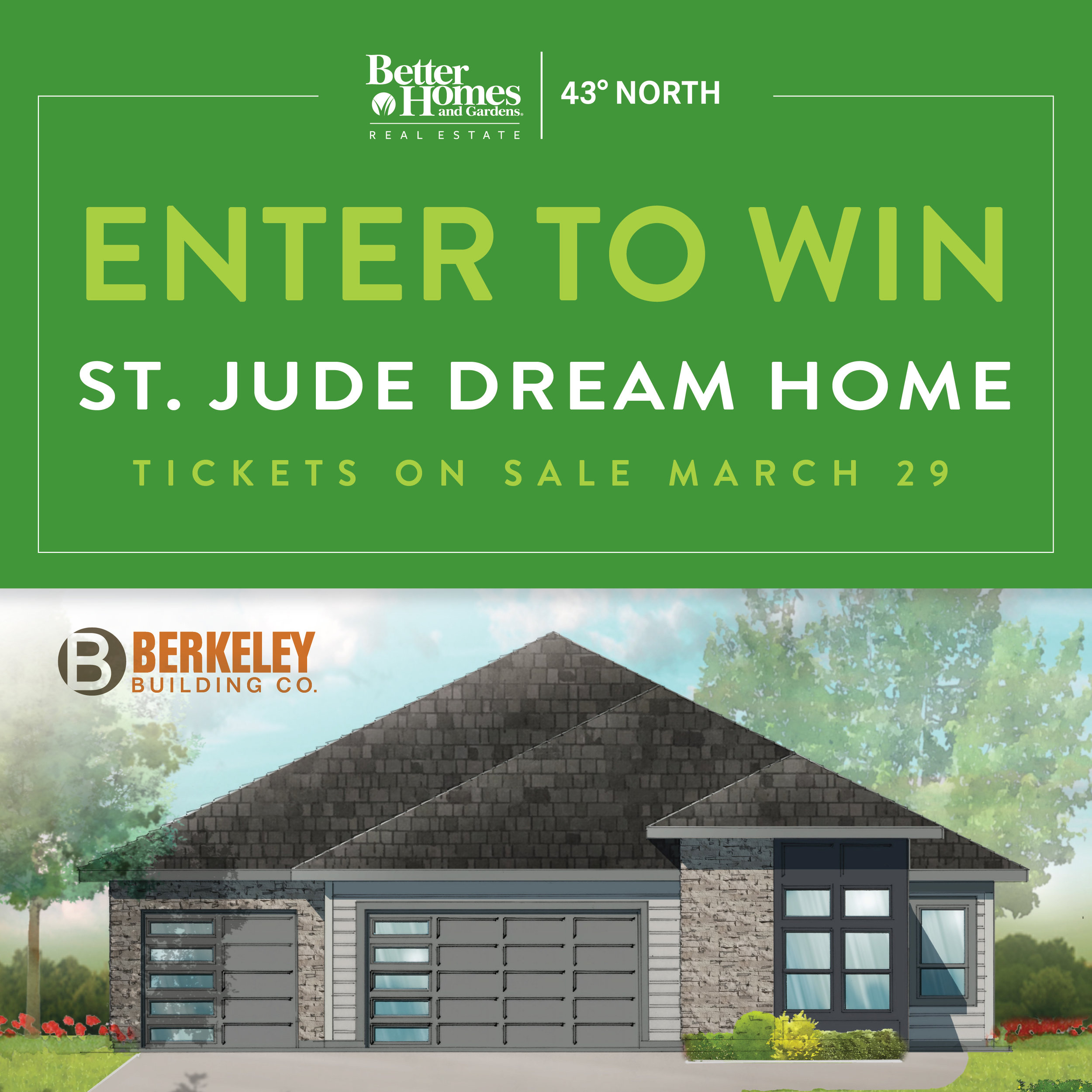 The 14th Annual St Jude Dream Home Giveaway Is Underway And Tickets Are Selling Fast Better Homes And Gardens Real Estate 43 North