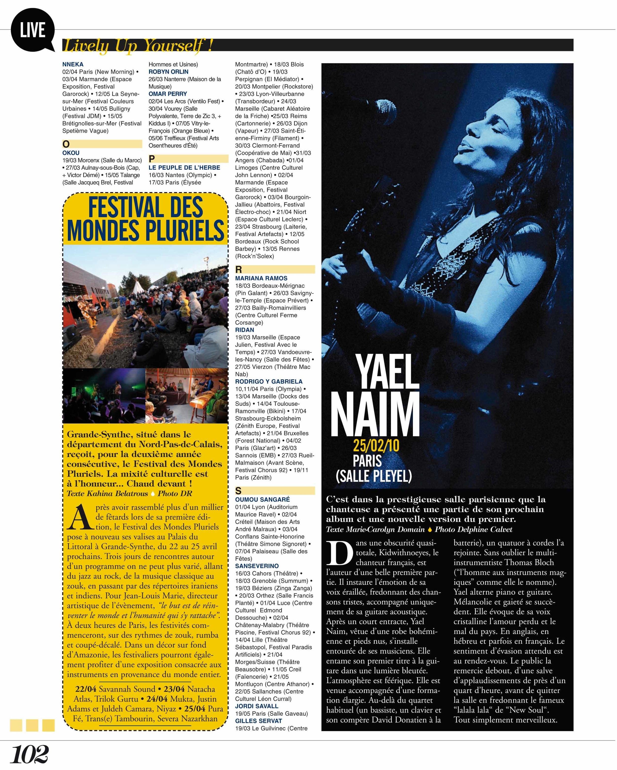 Yael Naim (World Sound)