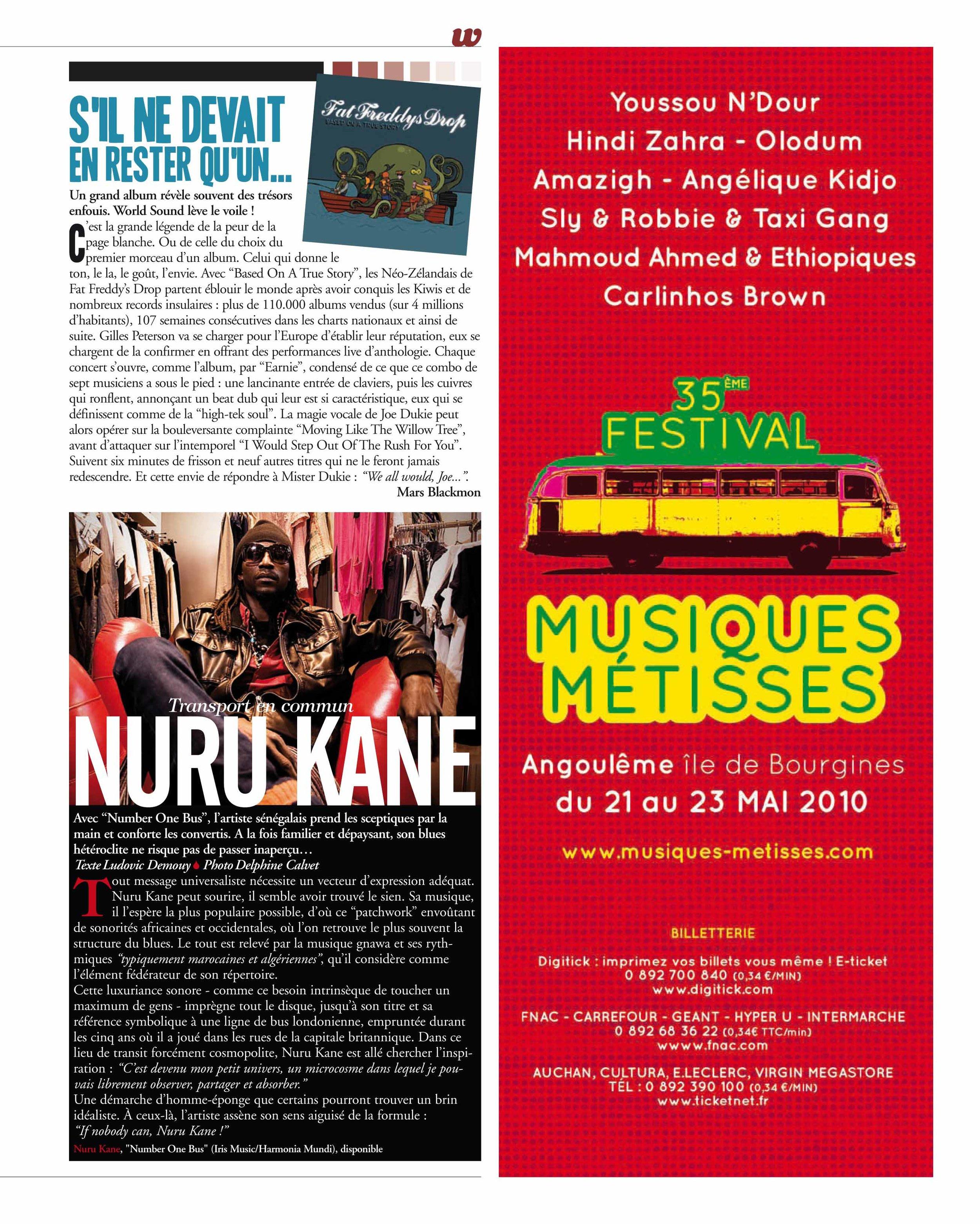 Nuru Kane (World Sound)