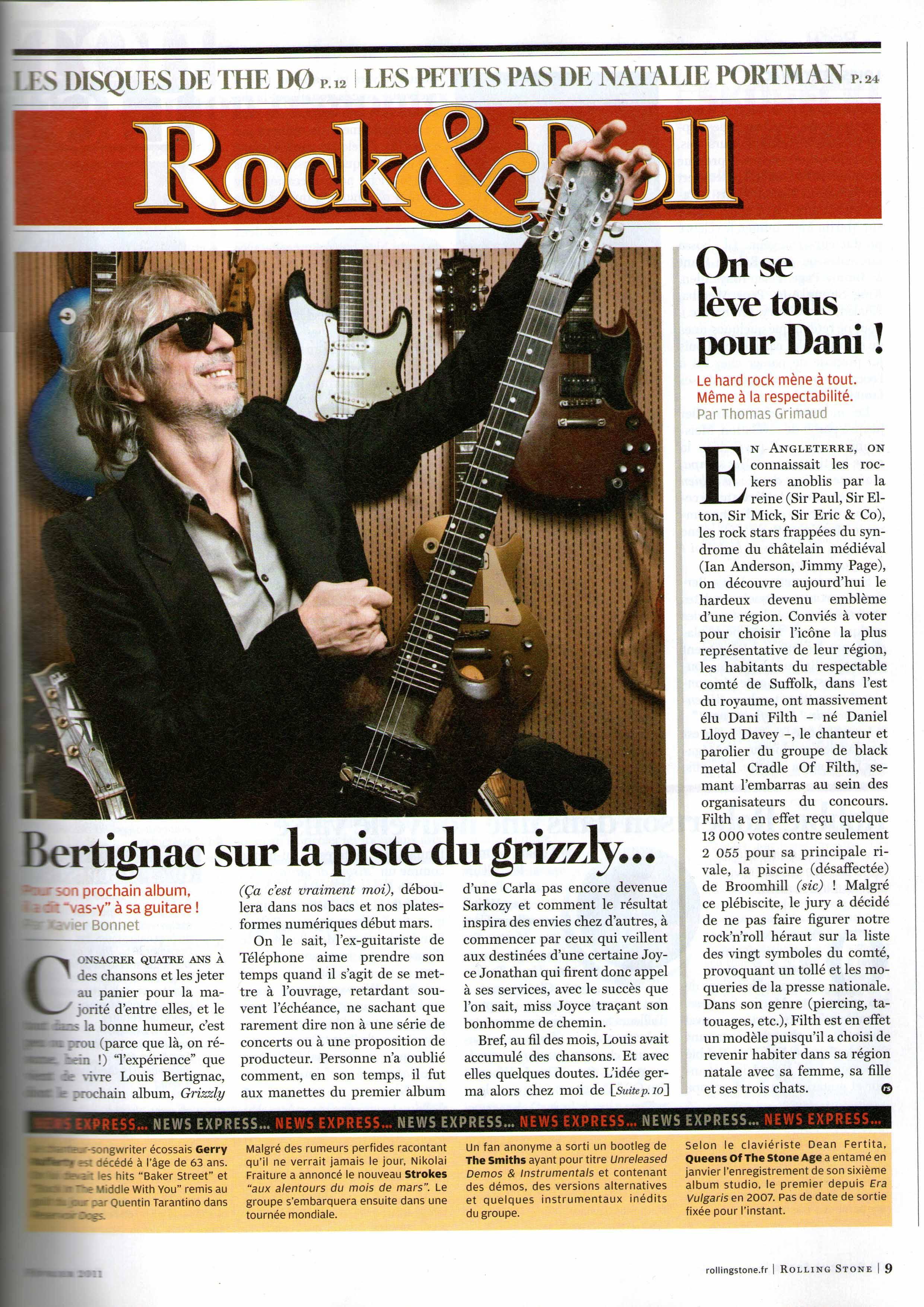 Louis Bertignac (Rolling Stone France)