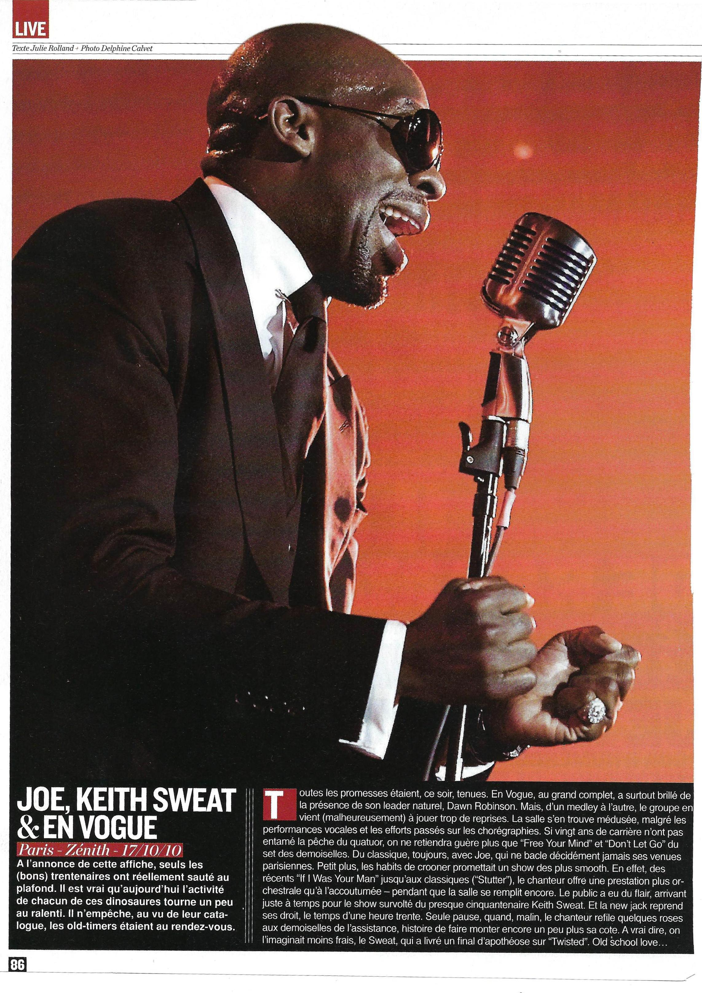 Joe, Keith Sweat & En Vogue (Rap Mag)