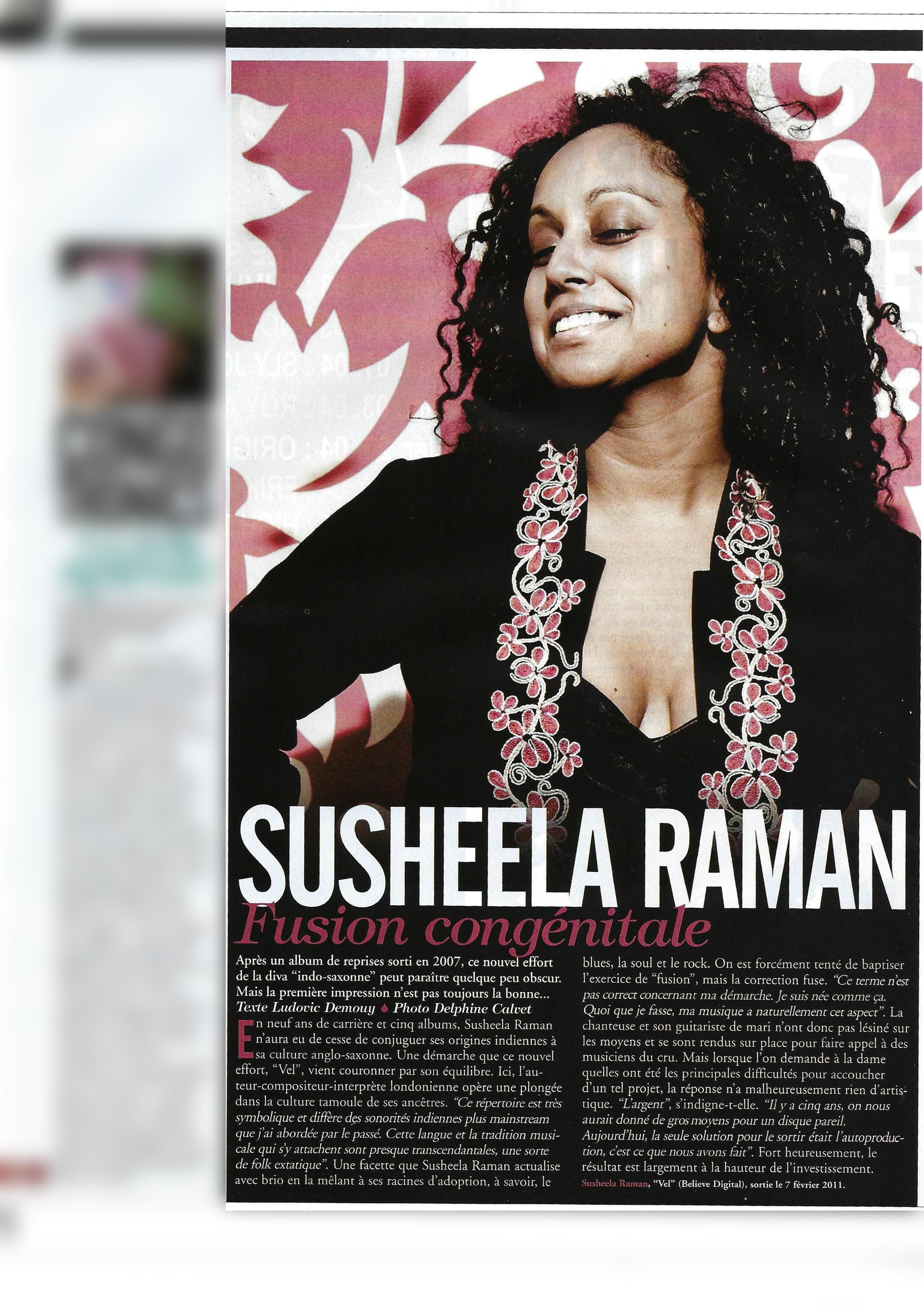 Susheela Raman (World Sound)