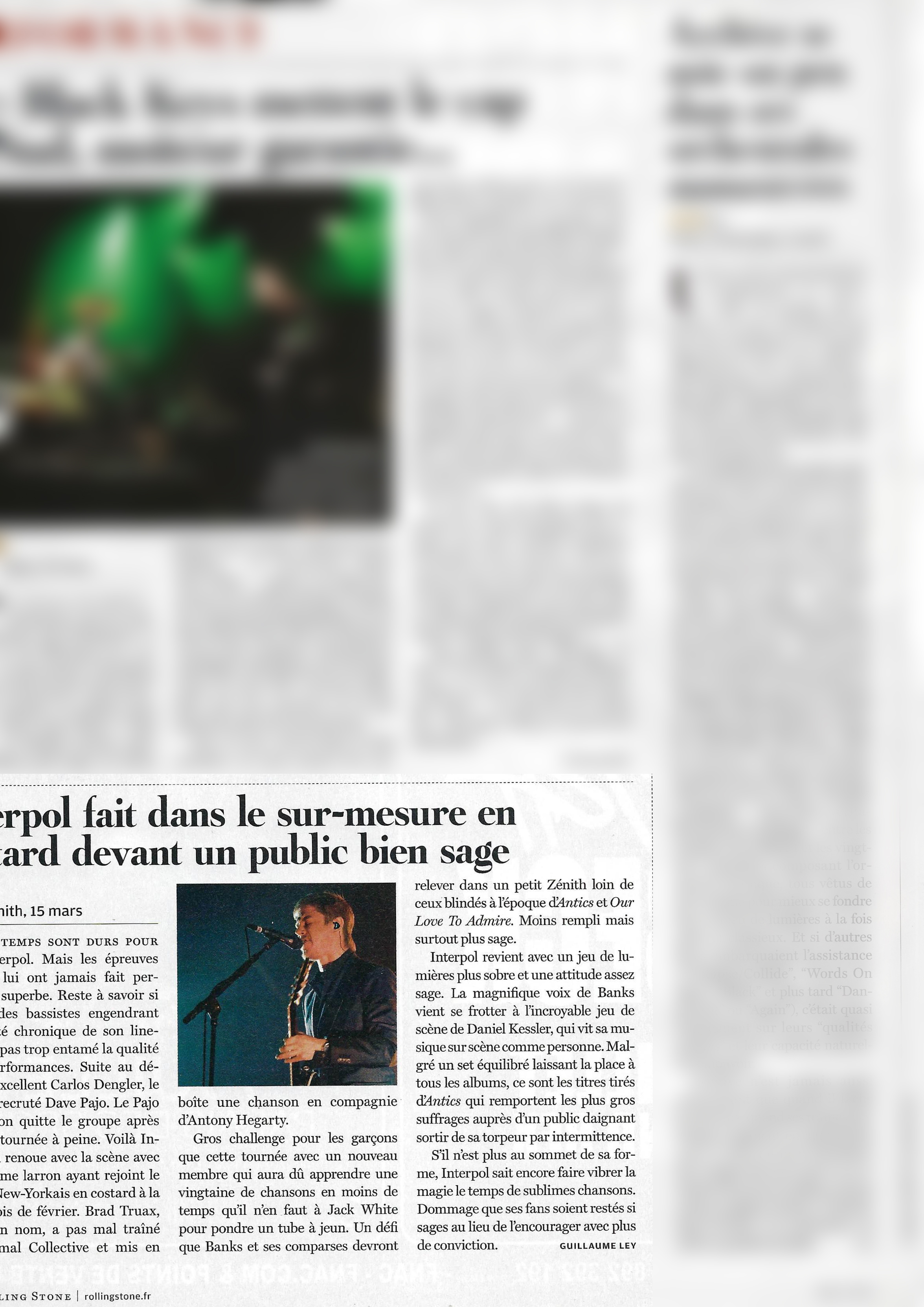 Interpol (Rolling Stone)
