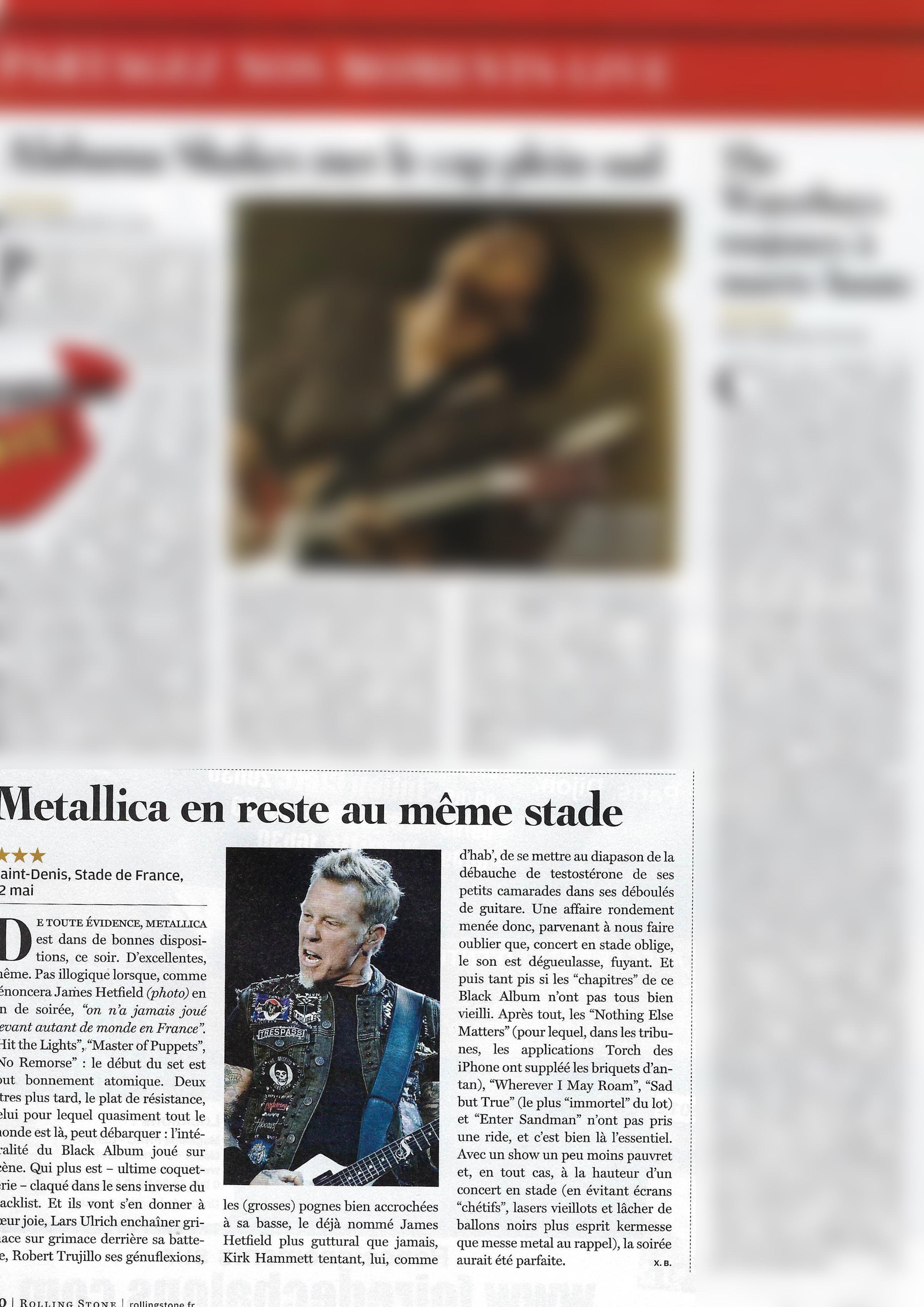 Metallica (Rolling Stone)