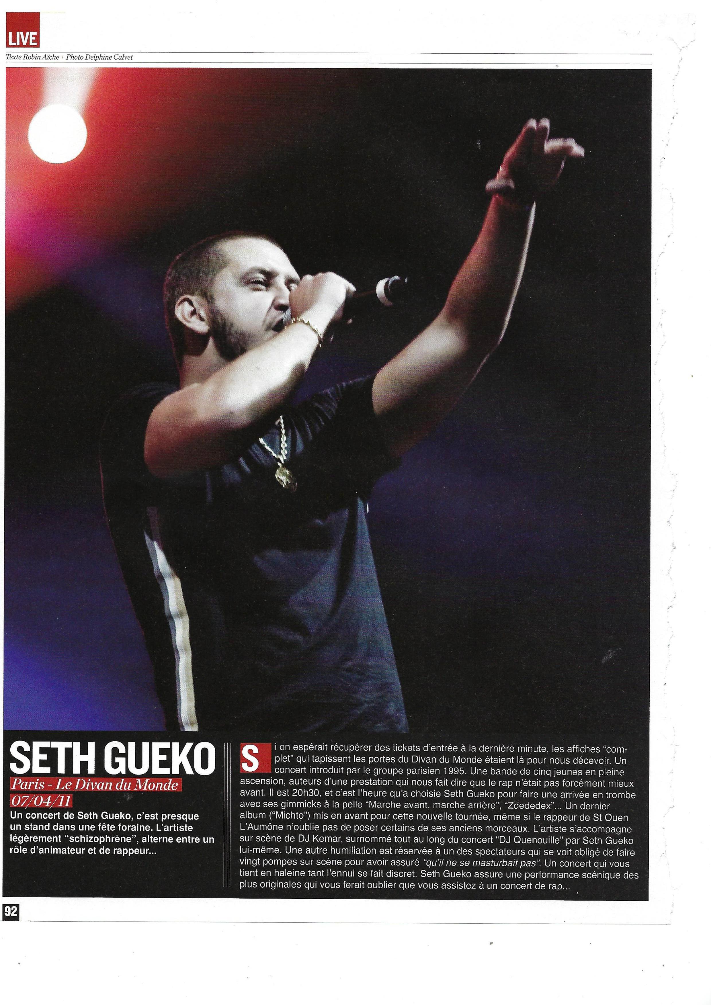 Seth Gueko (Rap Mag)
