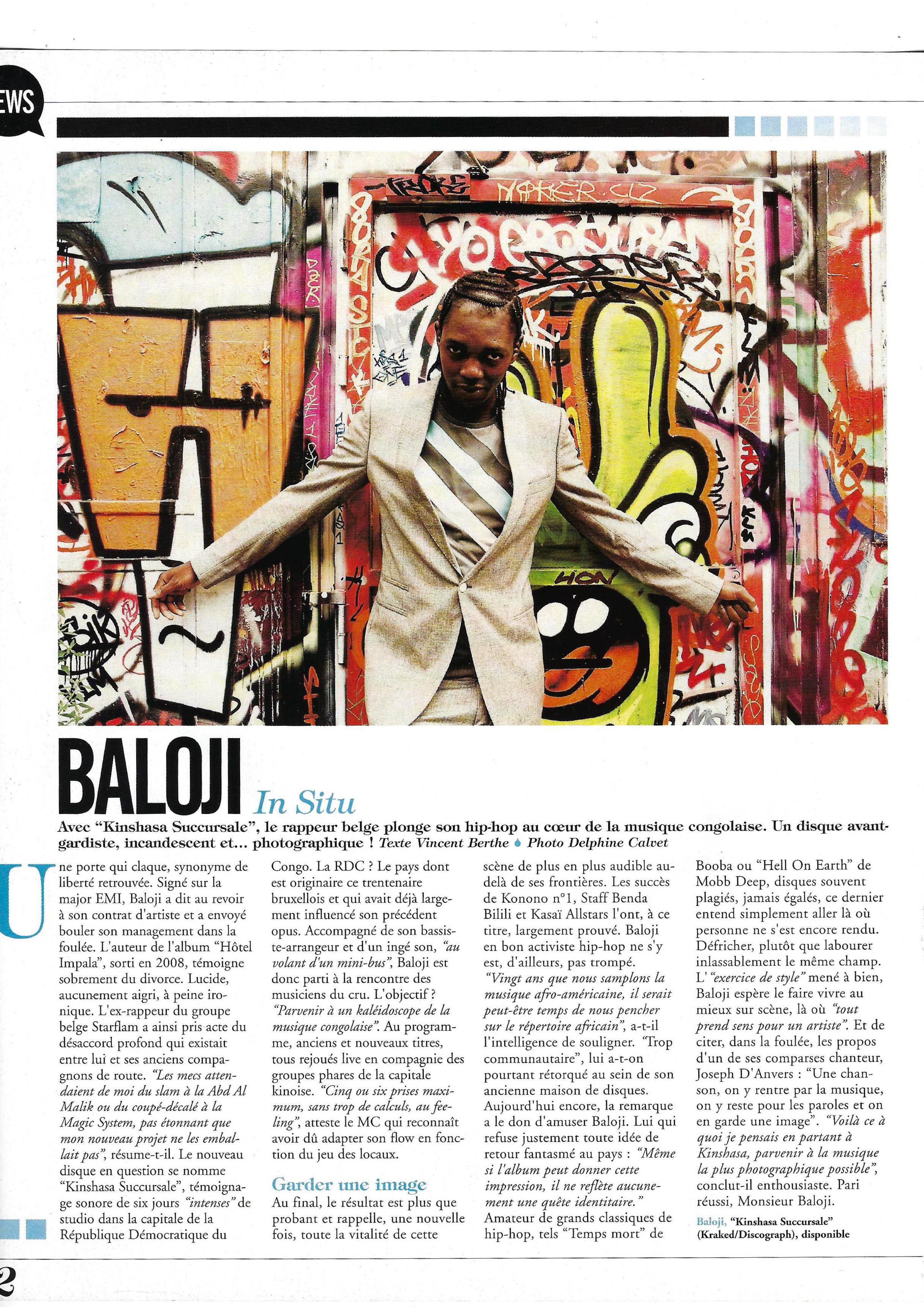 Baloji (World Sound)