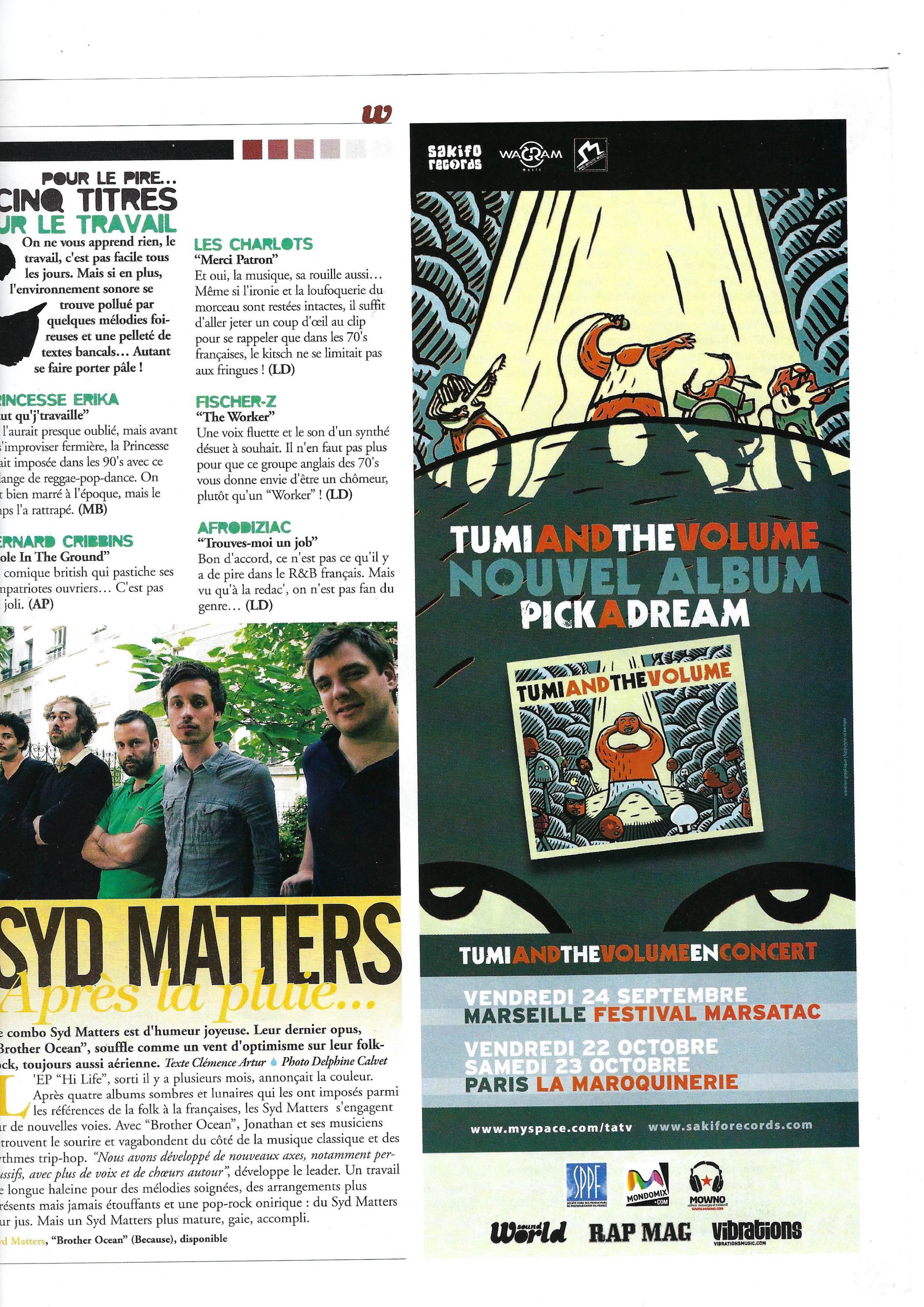 Syd Matters (World Sound)