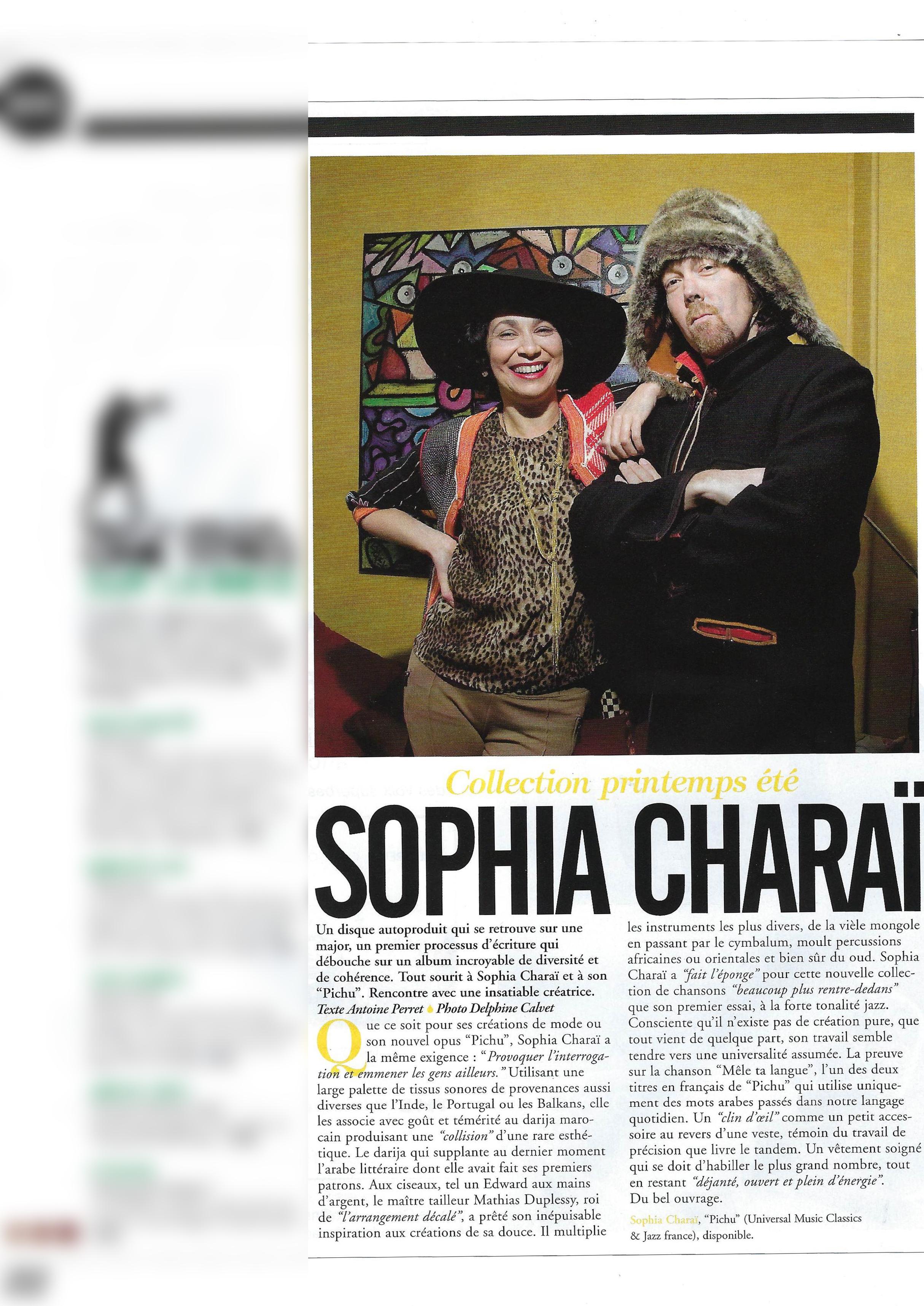 Sophia Charai (World Sound)