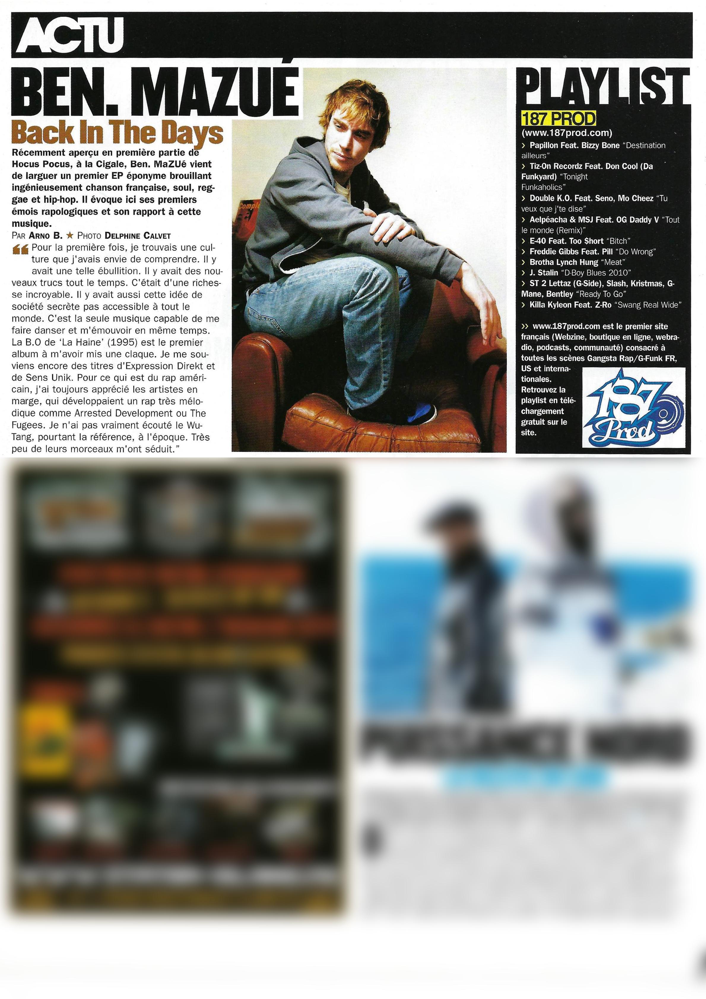 Ben Mazue (Rap Mag)