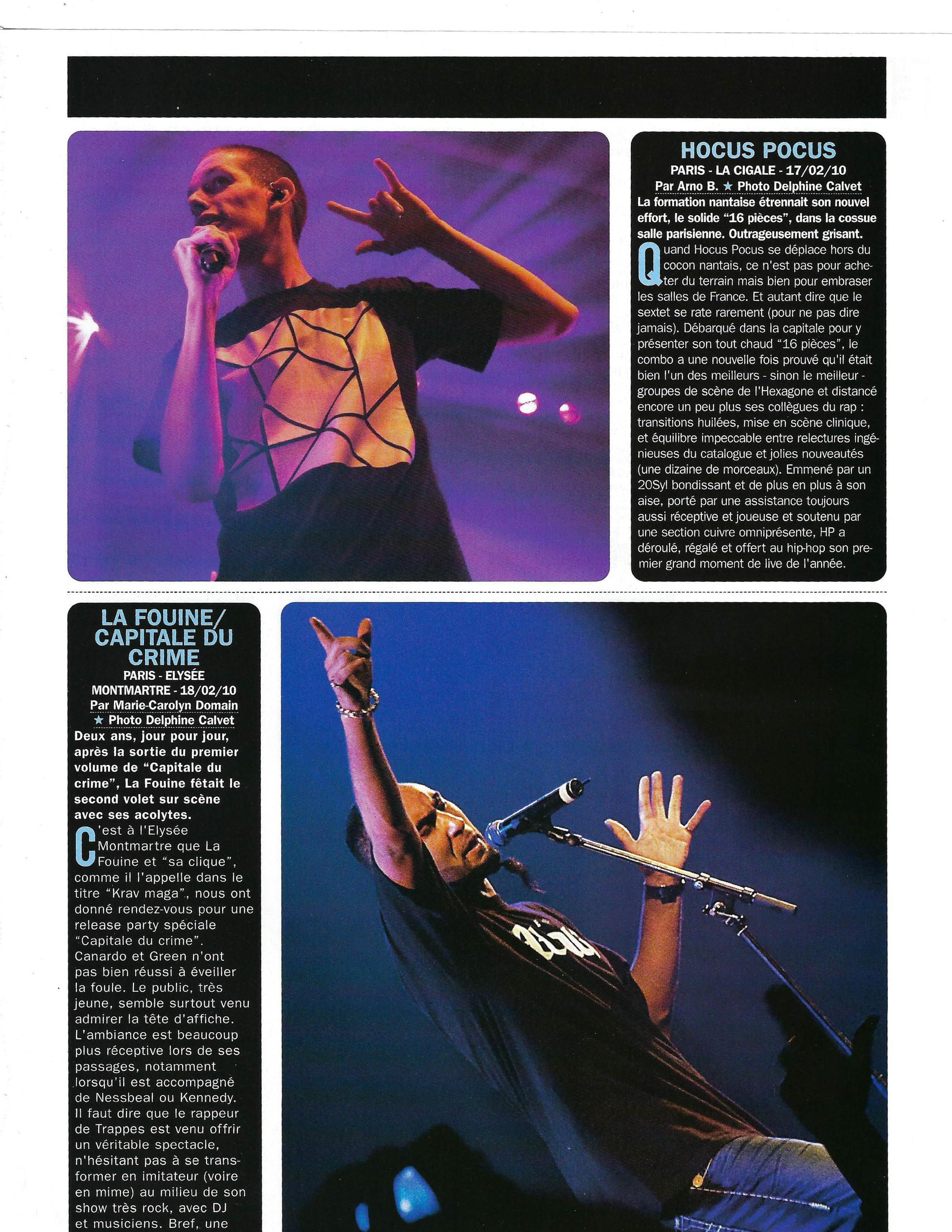Hocus Pocus / La Fouine (Rap Mag)