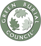 Our caskets are certified by the   Green Burial Council  .