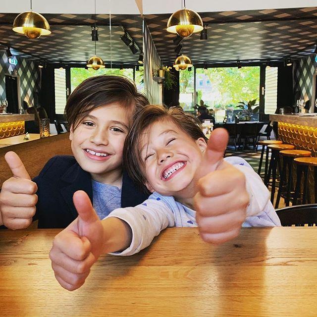 Onze jongste fans!! #seafoodlovers #syltseafoodbar  Customer repost: @ly_verzijl