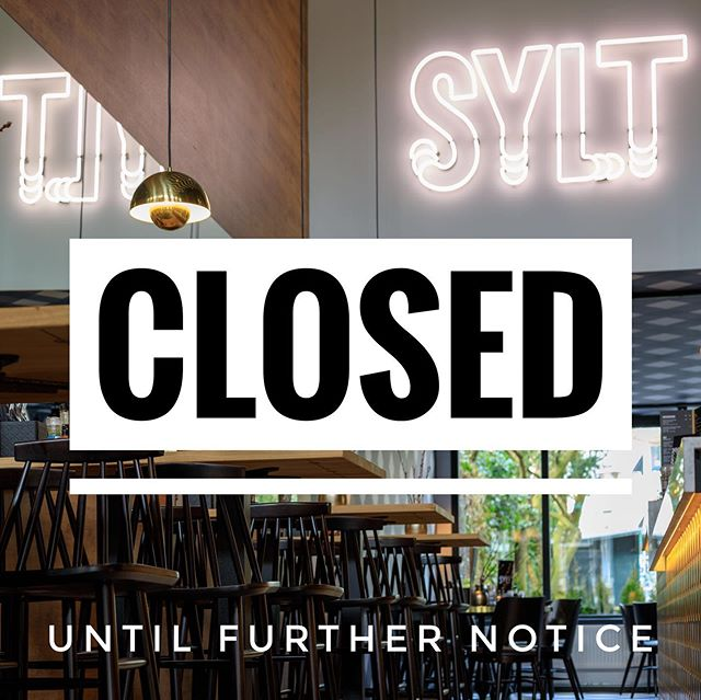 Sylt Seafood Bar is gesloten tot nader bericht!