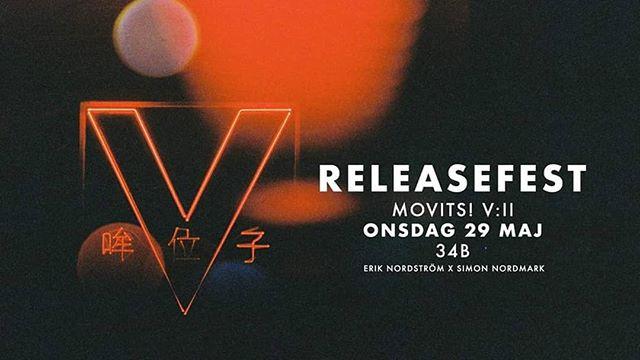 PEPPEN! Johan Jocke och Anders mer kända som MOVITS! Släpper sitt 5e album V:II och detta firar vi imorgon med en super release på 34B. Ta med en vän och låt oss fira! Tid 20-01 DJs @thenewpolaris ❤️