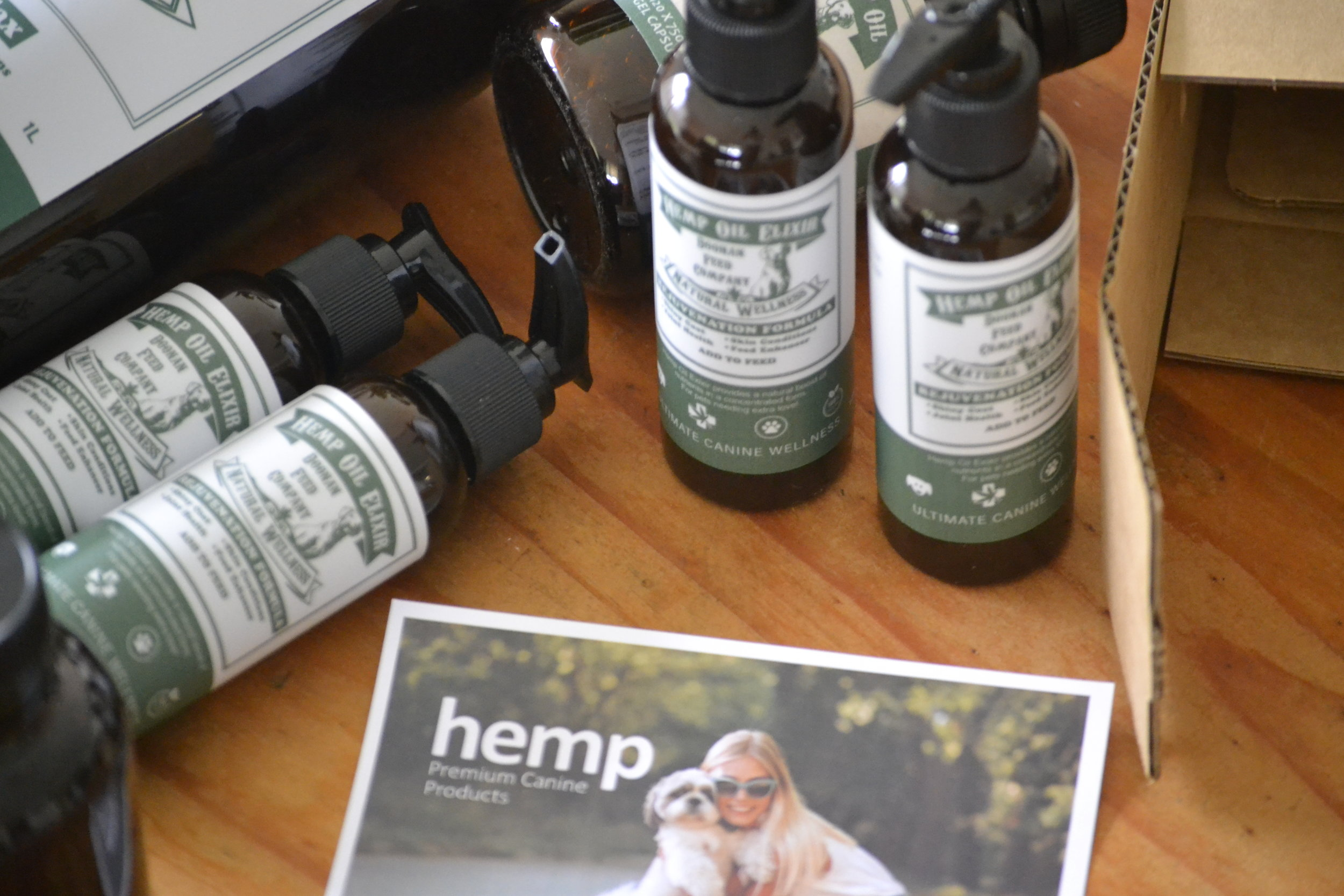 hemp oil elixir for dogs doonan feed company products