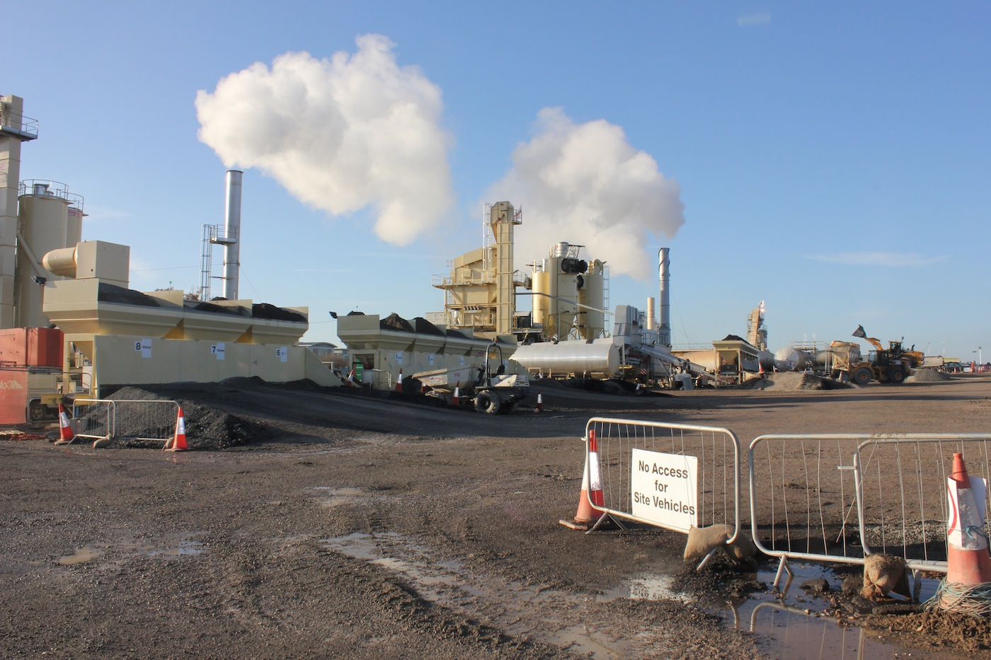 On Site Asphalt Plant