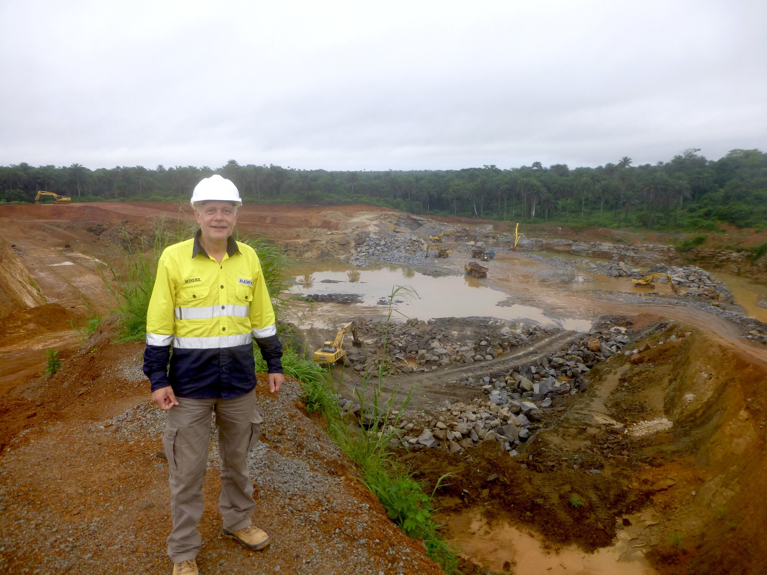 Nigel Wager - AML Rofanye quarry